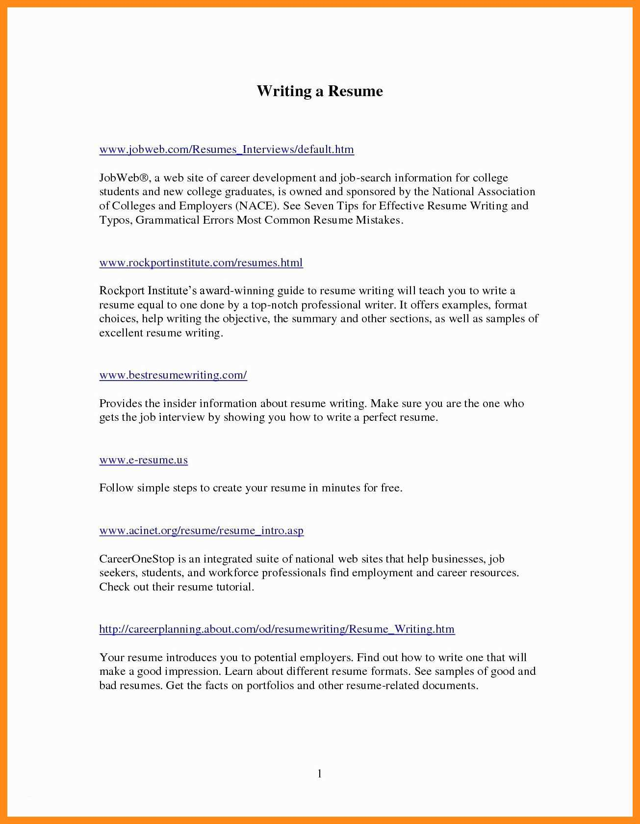 careerbuilder resume template Collection-careerbuilder resume templates career builder resume new career 19-n