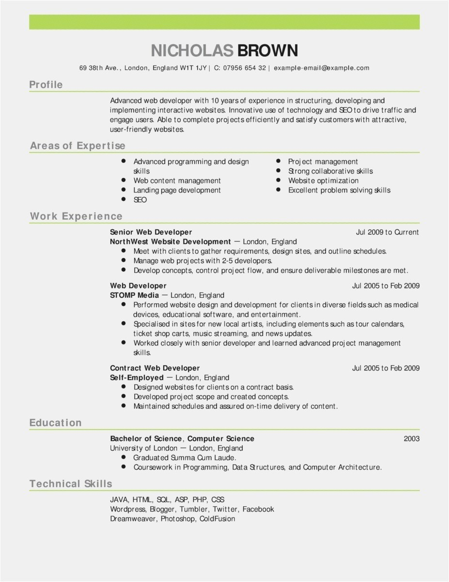 Carpenter Resume Template - Good Resume Samples Awesome Good Resume Words Unique Lead Carpenter