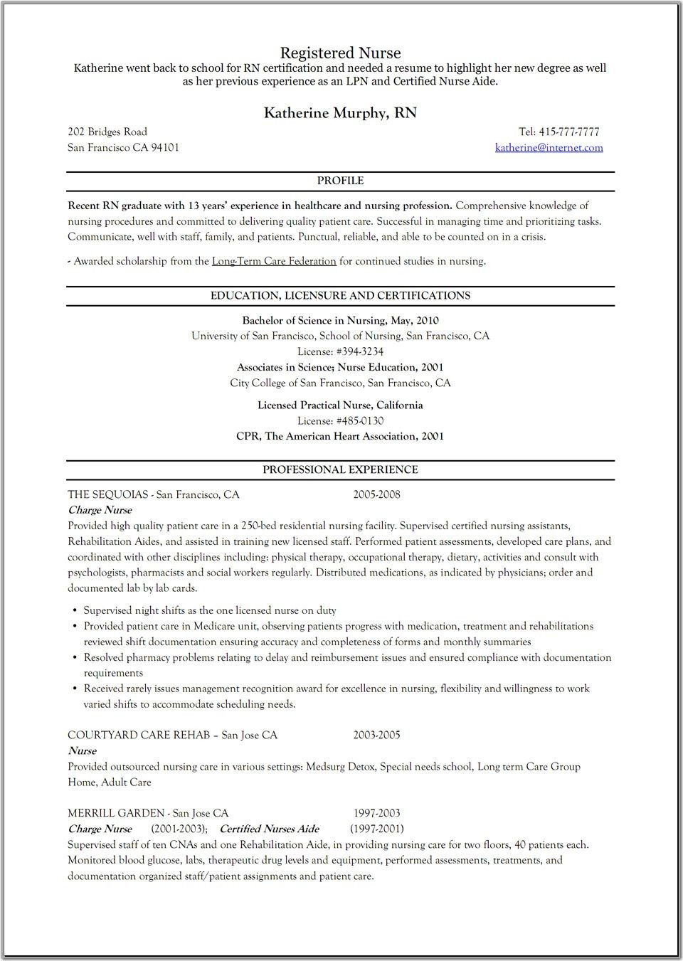 Charge Nurse Resume Examples - Charge Nurse Resume Unique Elegant New Nurse Resume Awesome Nurse