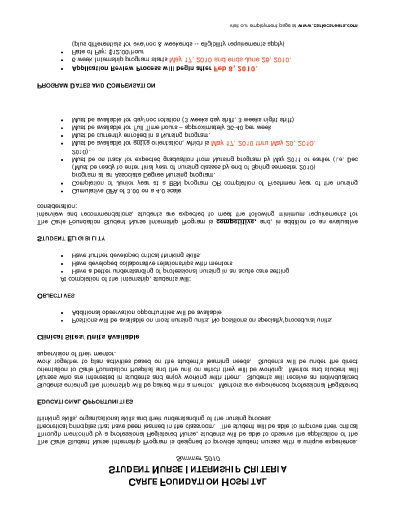 Charge Nurse Resume Examples - 25 Charge Nurse Resume