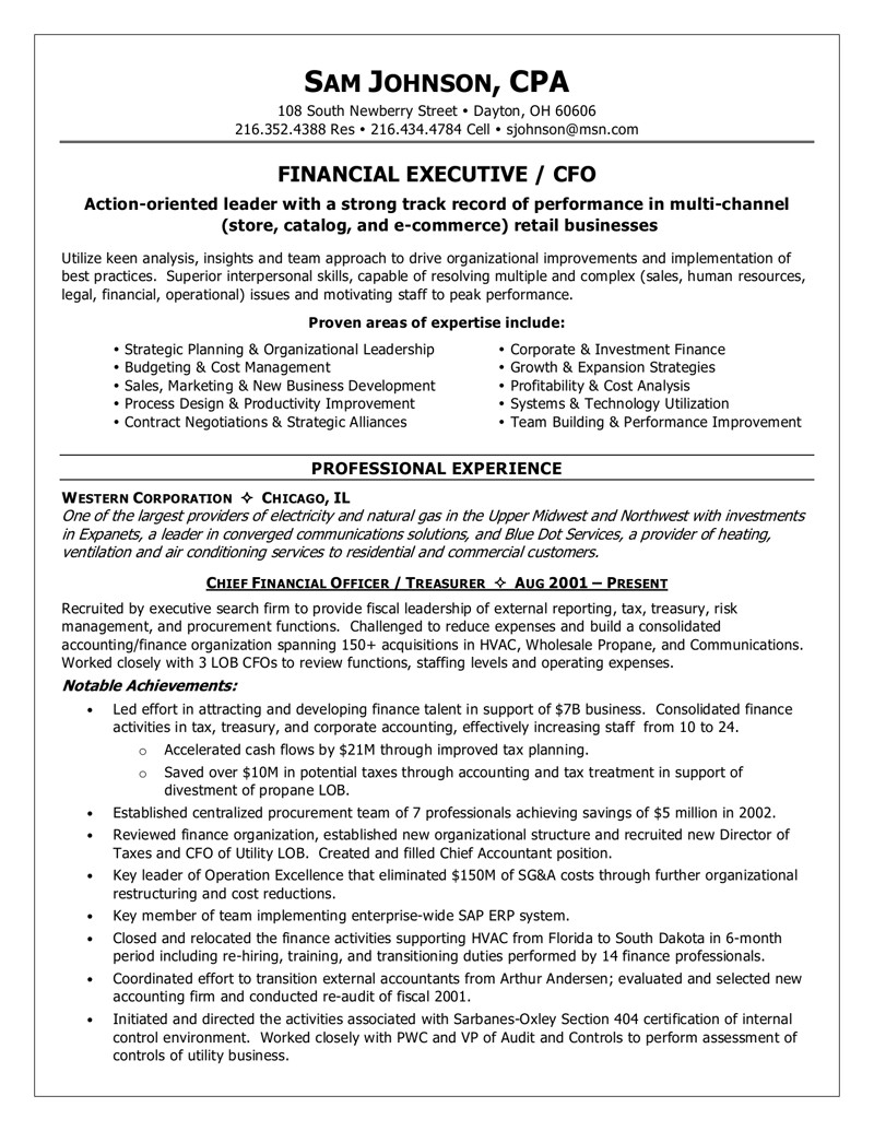 Chief Financial Officer Resume Template - Cfo Resume Examples Lovely Cfo Resume Template Inspirational Actor