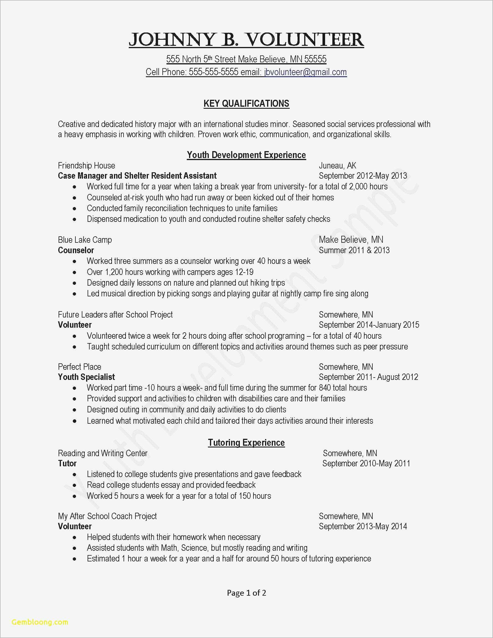 Child Care Provider Resume - √ Resume format for It Professional Valid Best Examples Resumes