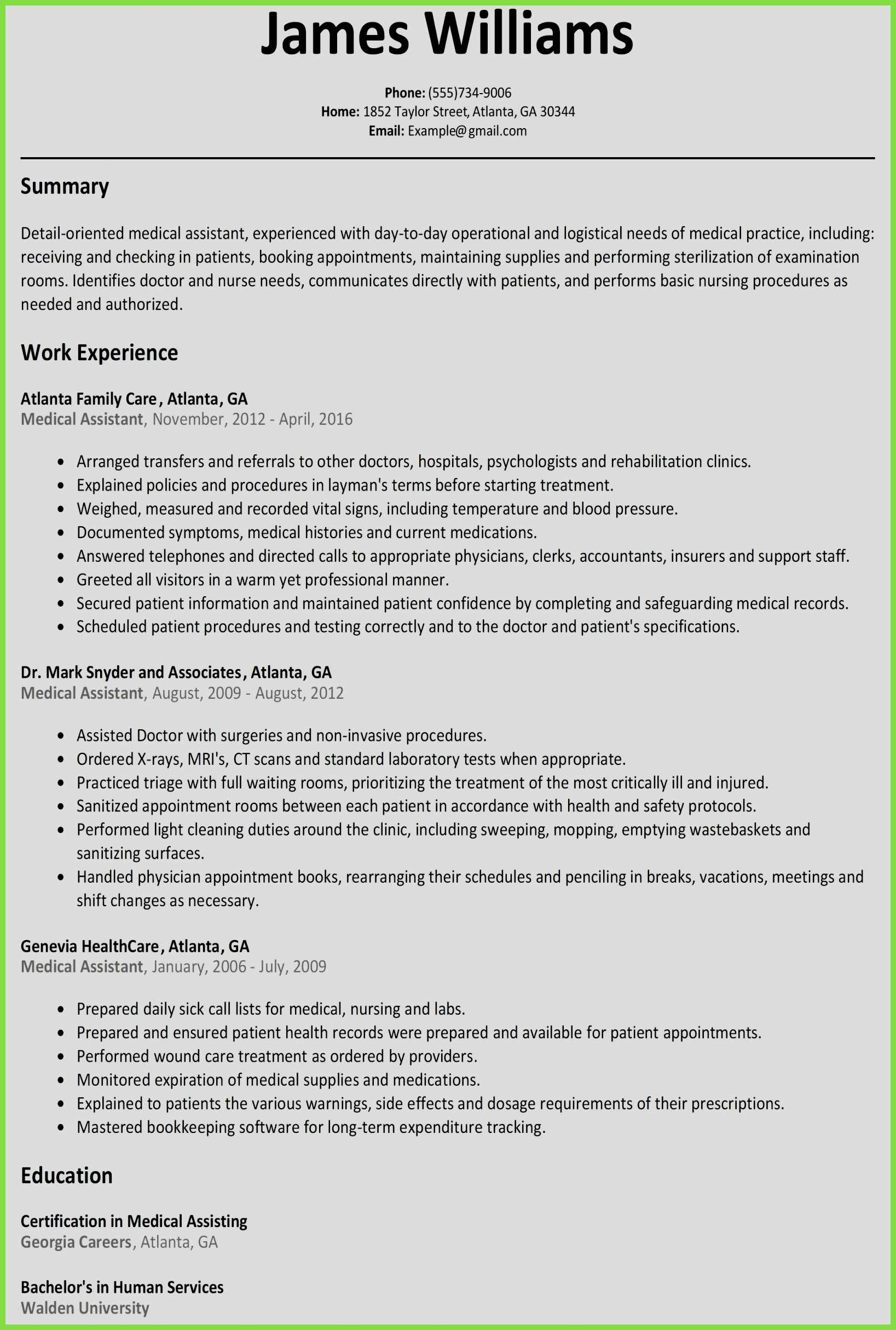 Childcare Resume Template - 47 Inspirational Gallery Child Care Resume Sample
