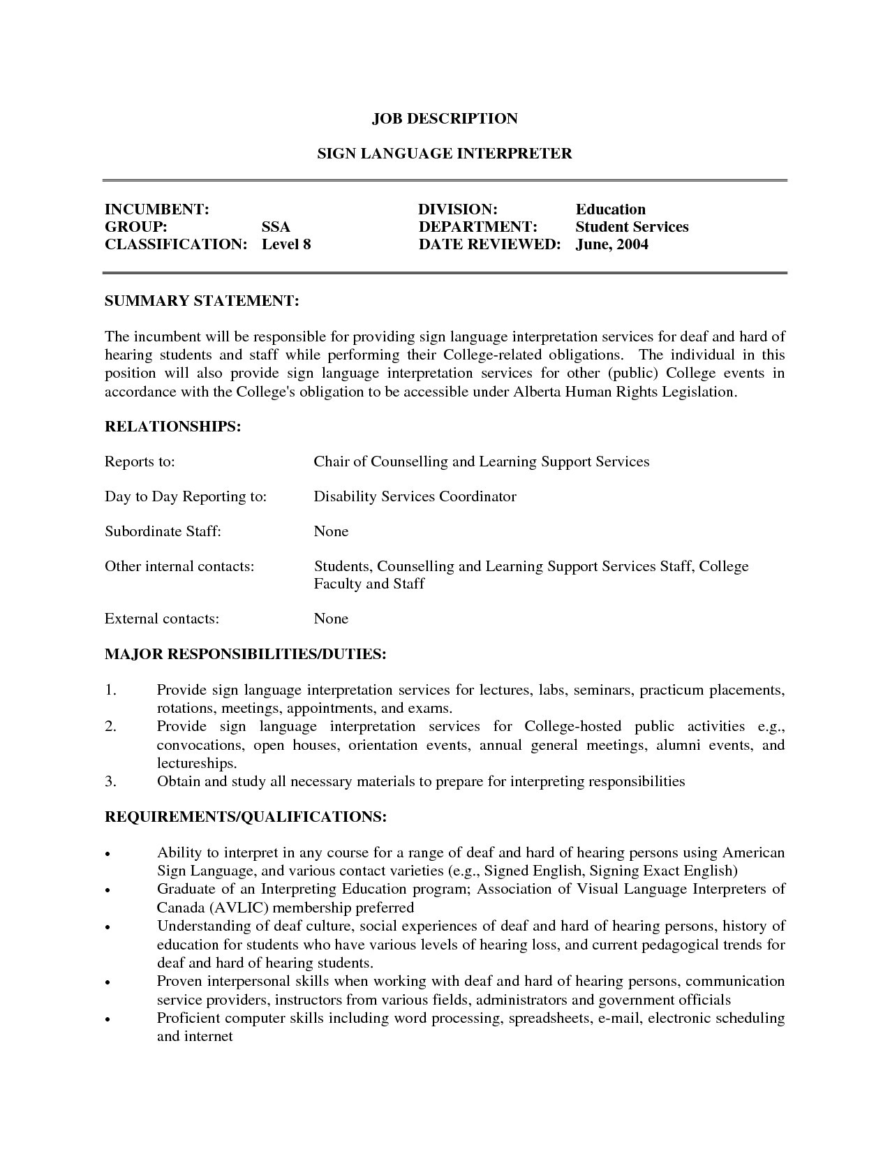 Chiropractic assistant Resume - Chiropractor Duties New Medical Interpreter Resume Best Chiropractic