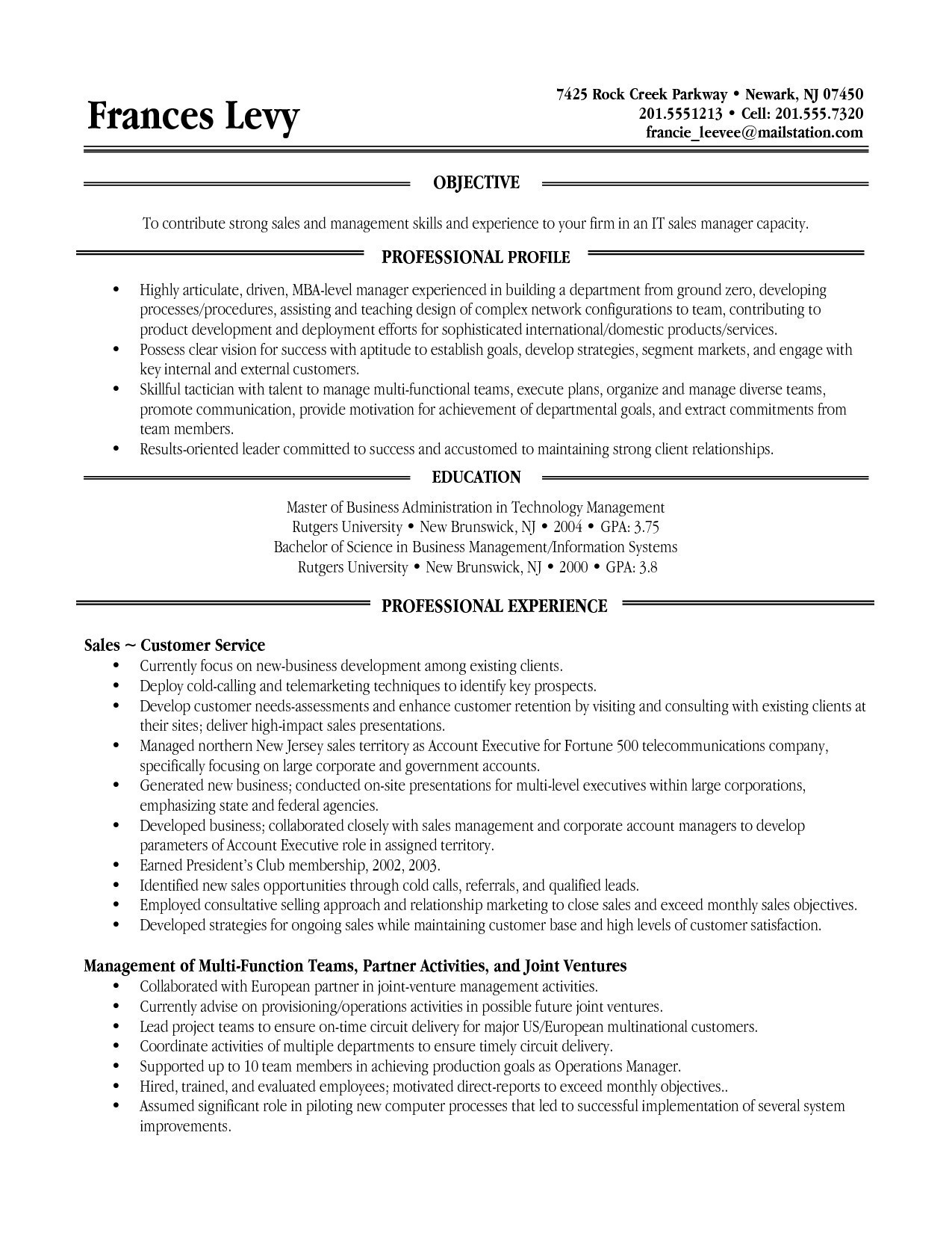 Chrono Functional Resume Template - Chrono Functional Resume Awesome Chrono Functional Cv Template