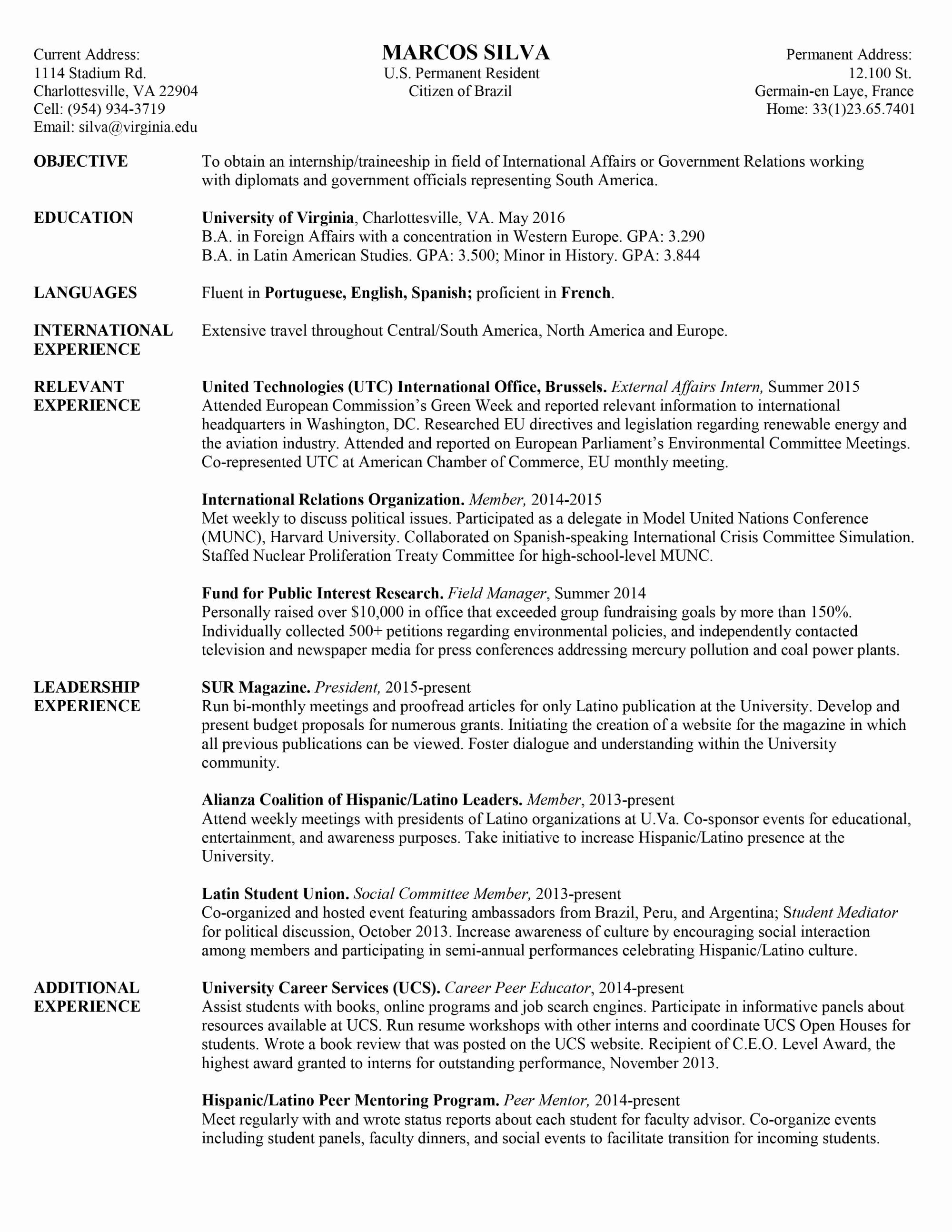 Chronological Resume Template Pdf - Modeling Portfolio Sample Pdf New Resume Model Resume Template