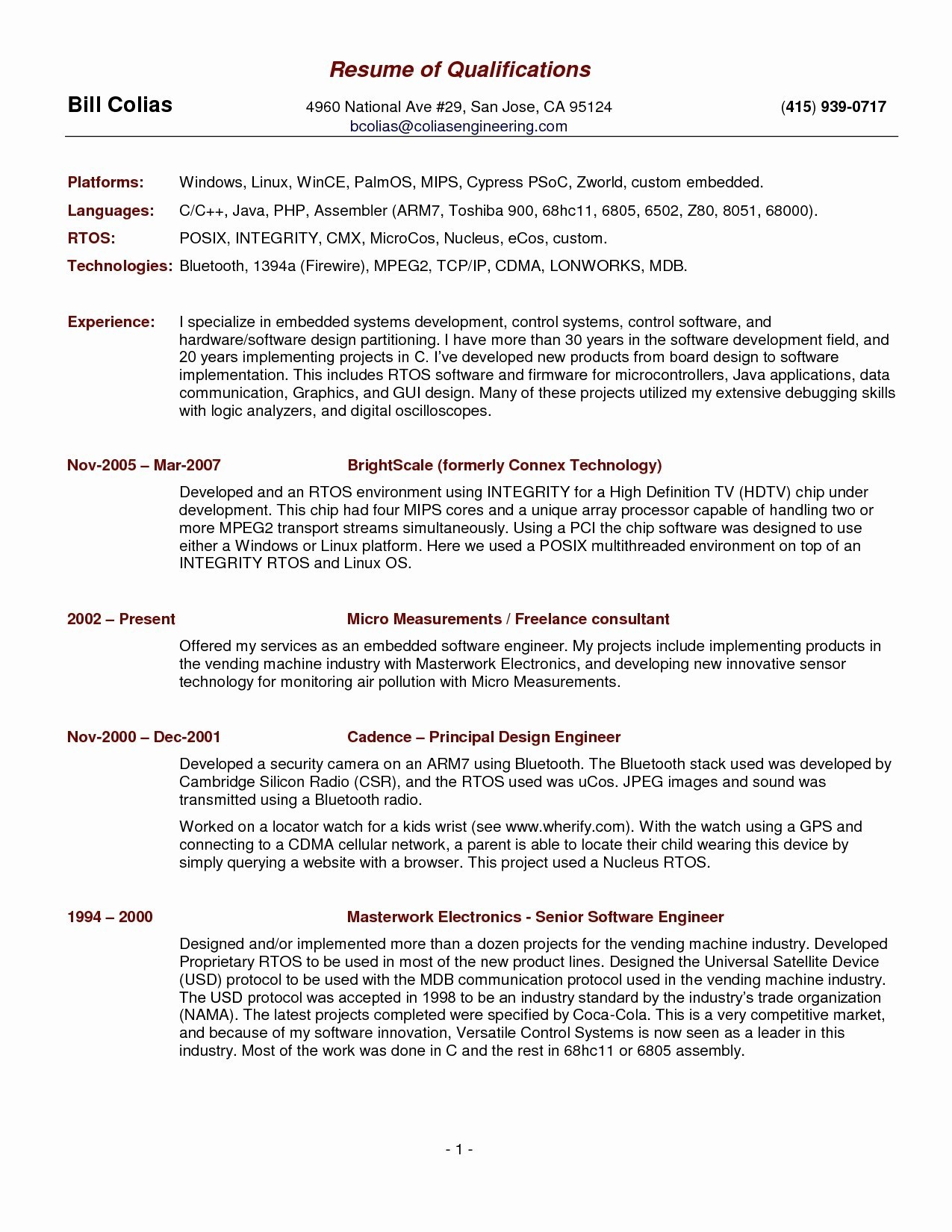 Cio Resume Template - Free Sample Resume Templates Elegant Elegant Pr Resume Template