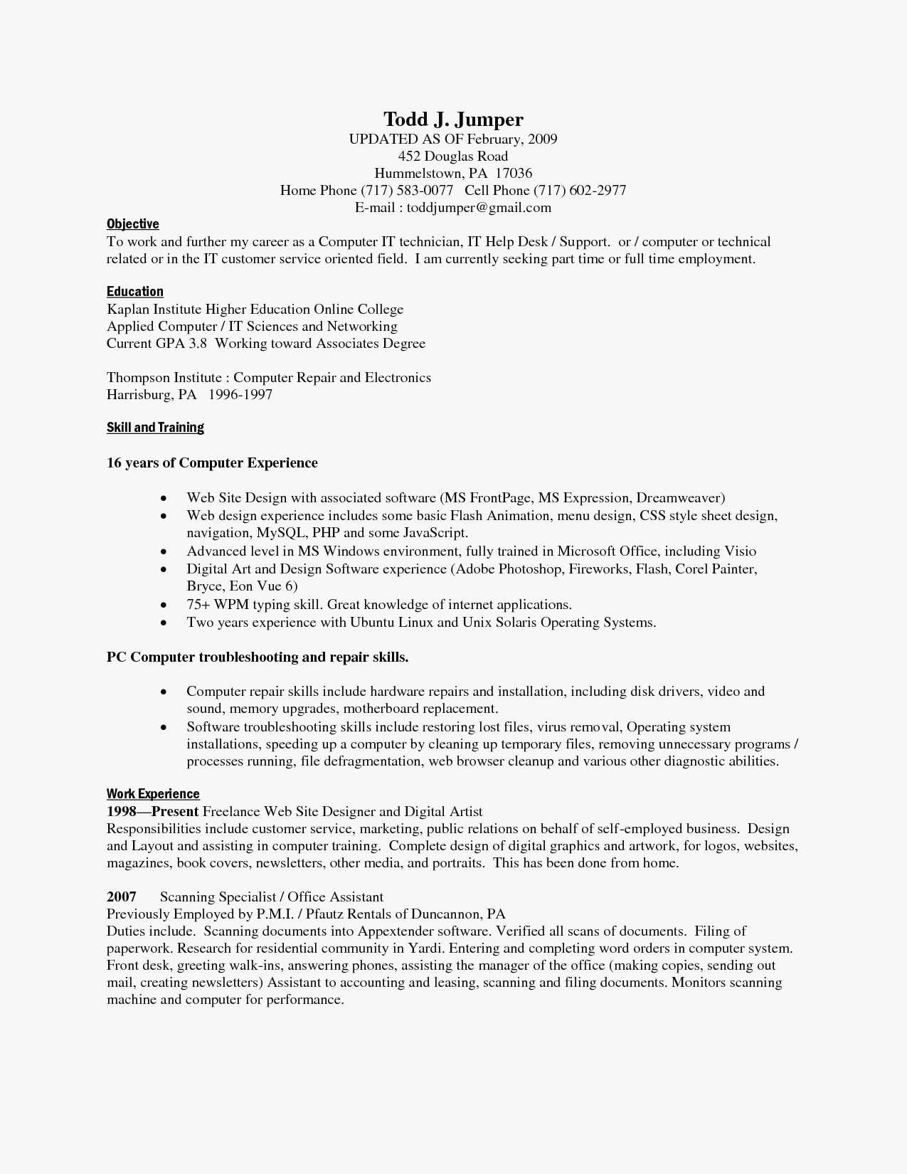 Cleaning Service Resume - 50 Cleaning Invoice Template Word