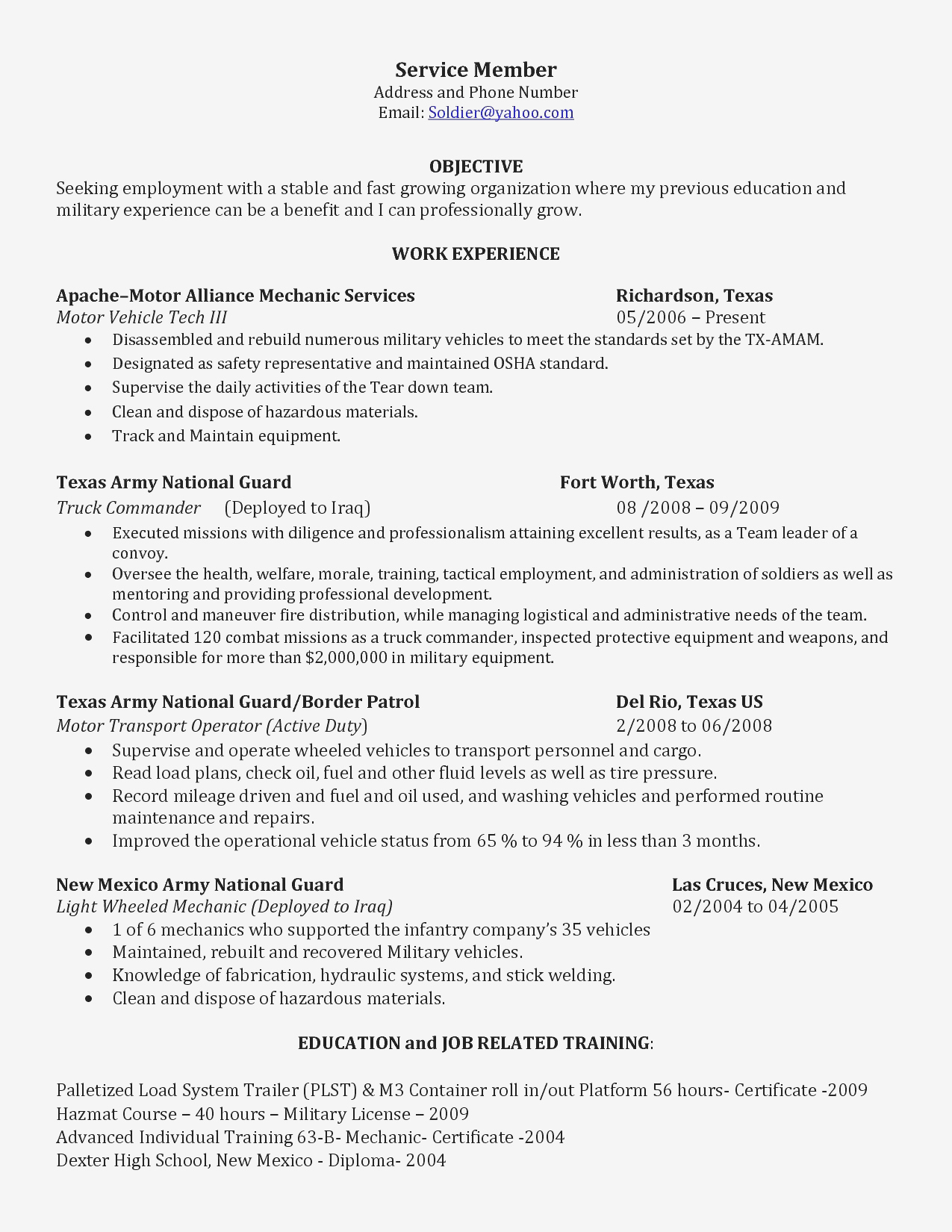 cleaning service resume Collection-Resume 19-i