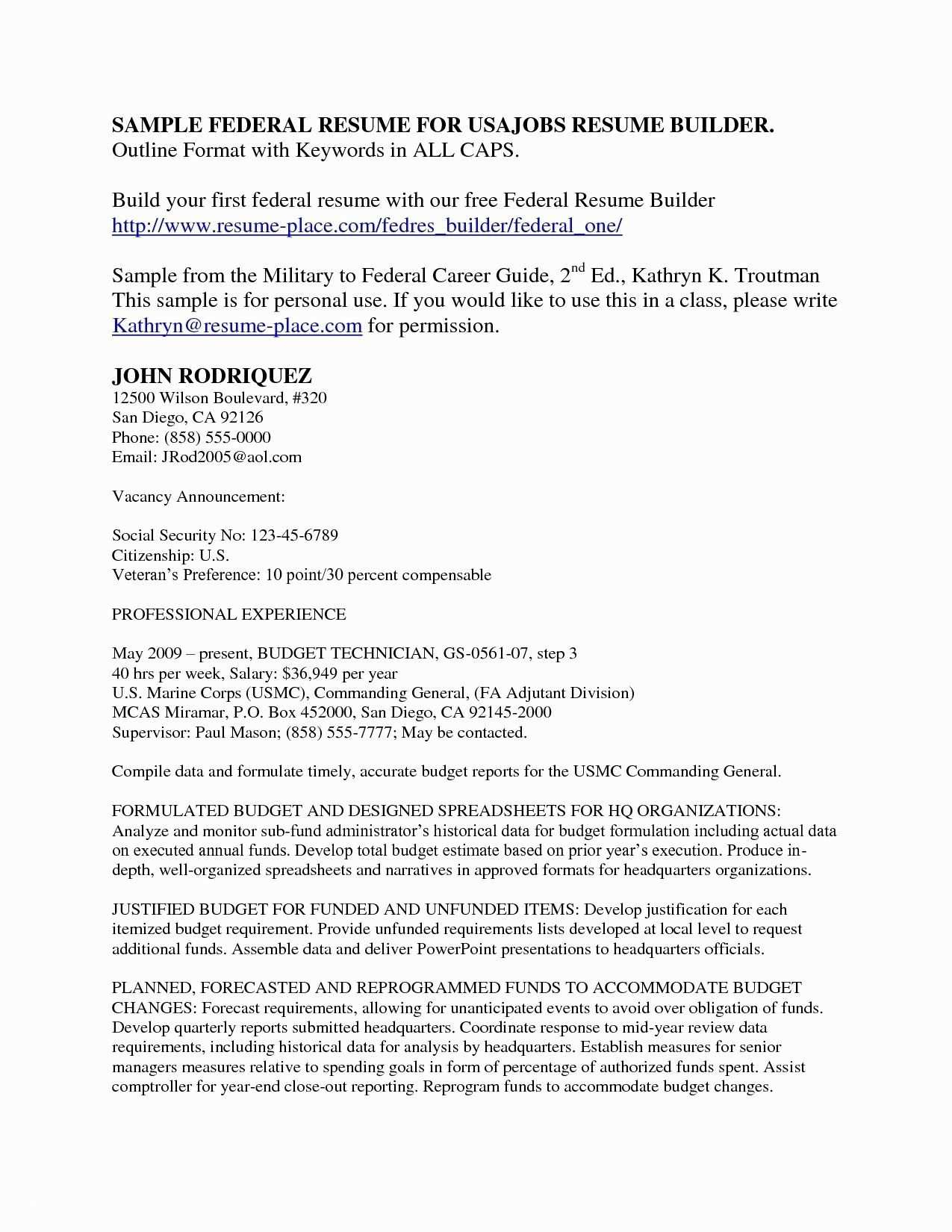 College Application Resume Template Free - √ Resume Federal Jobs Best Awesome Sample College Application