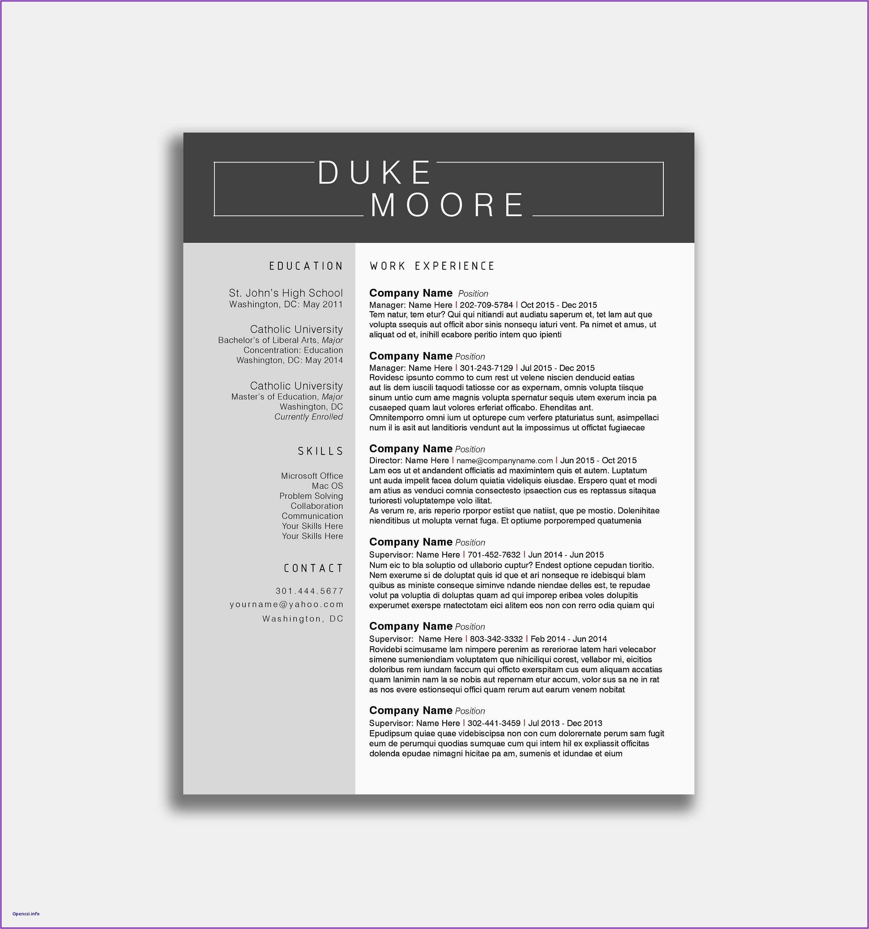 College Student Resume for Internship - 22 Best College Internship Resume Template Free