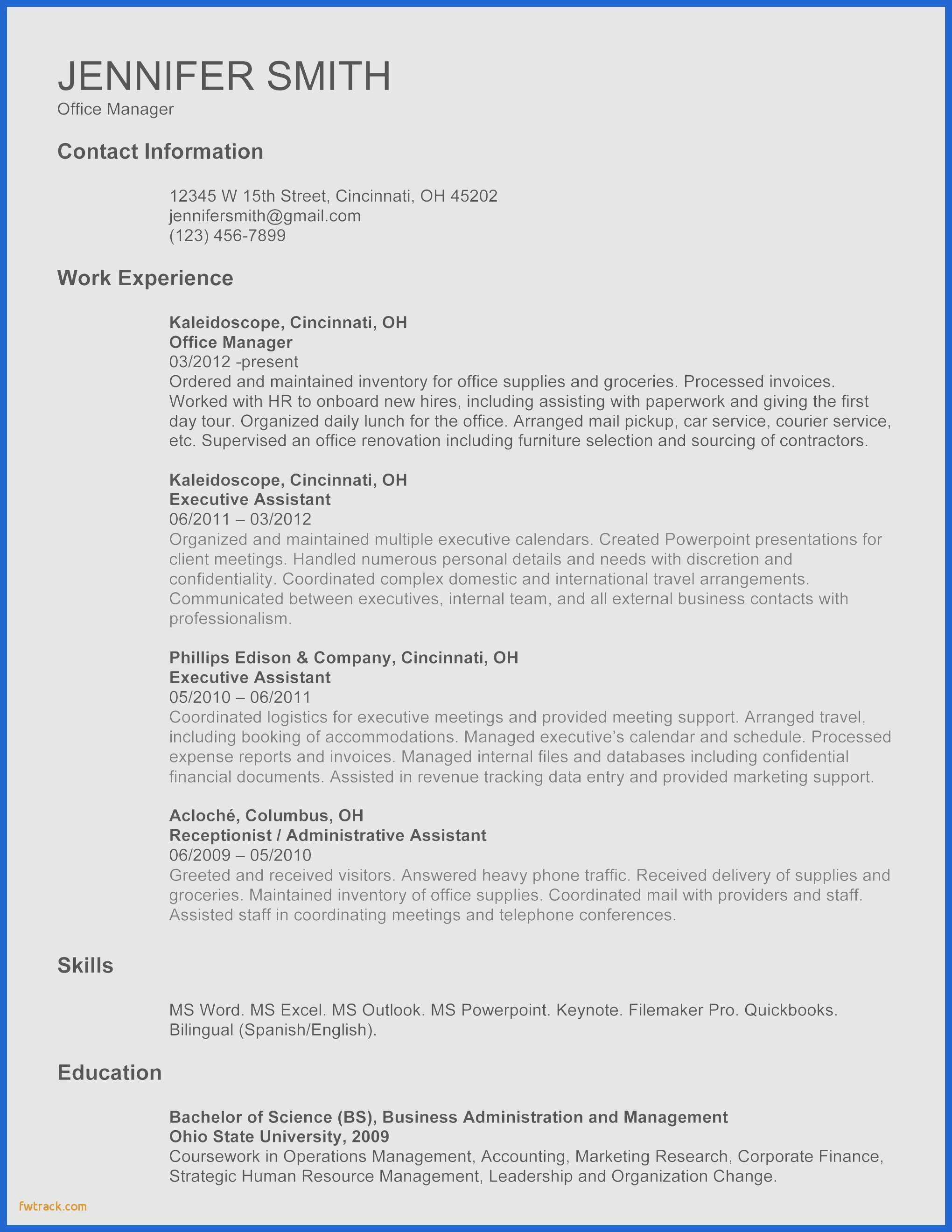 College Student Resume Template Microsoft Word - College Student Resume Template Microsoft Word Fwtrack