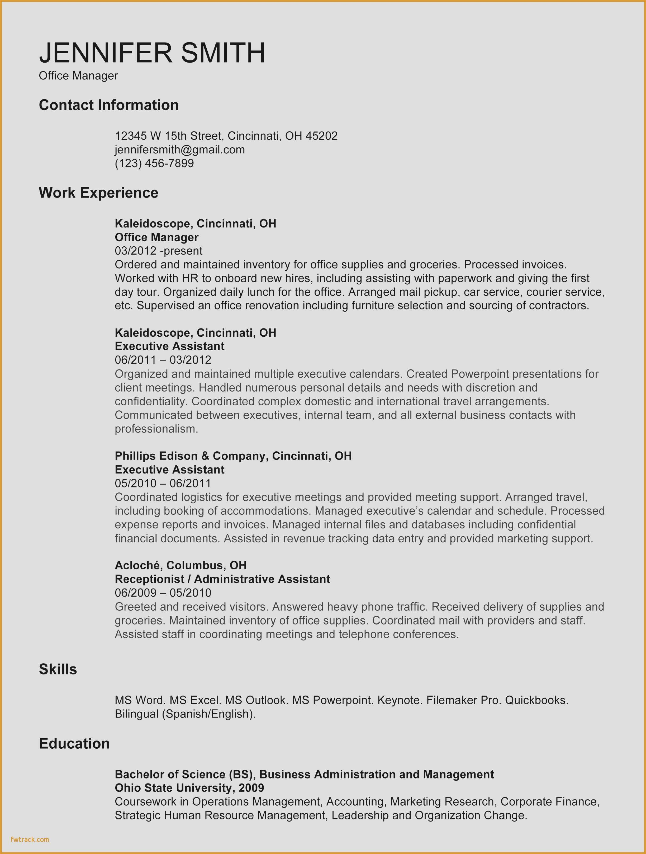 college student resume template microsoft word Collection-Best Reception Resume Luxury American Resume Sample New Student Resume 0d What to Write In 8-r