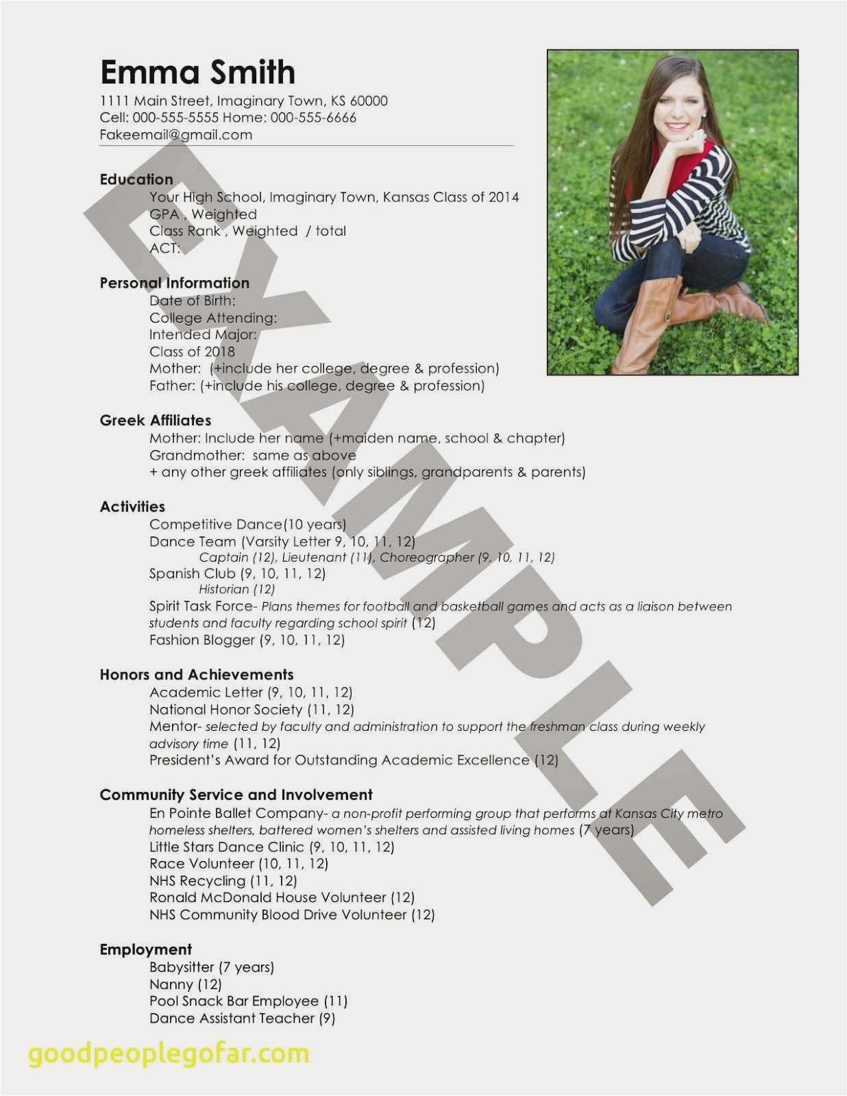 Community Service Resume - Achievements In Resume for Students Professional Lovely Entry Level