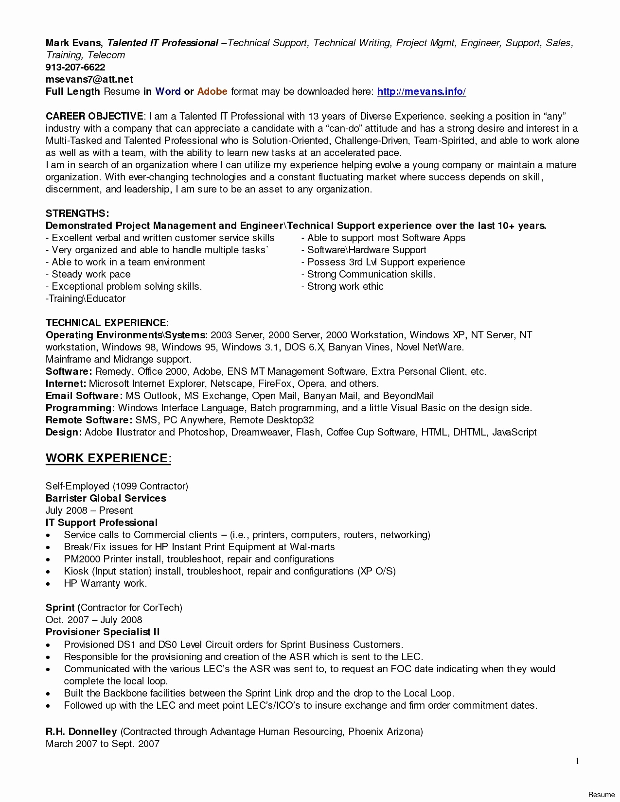 Computer Help Desk Resume - Service Desk Work Awesome Help Desk Outsourcing Awesome Sample
