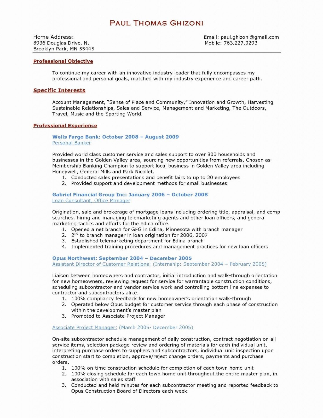Construction Manager Resume - Project Coordinator Resume Refrence Inspirational Resume Tutor
