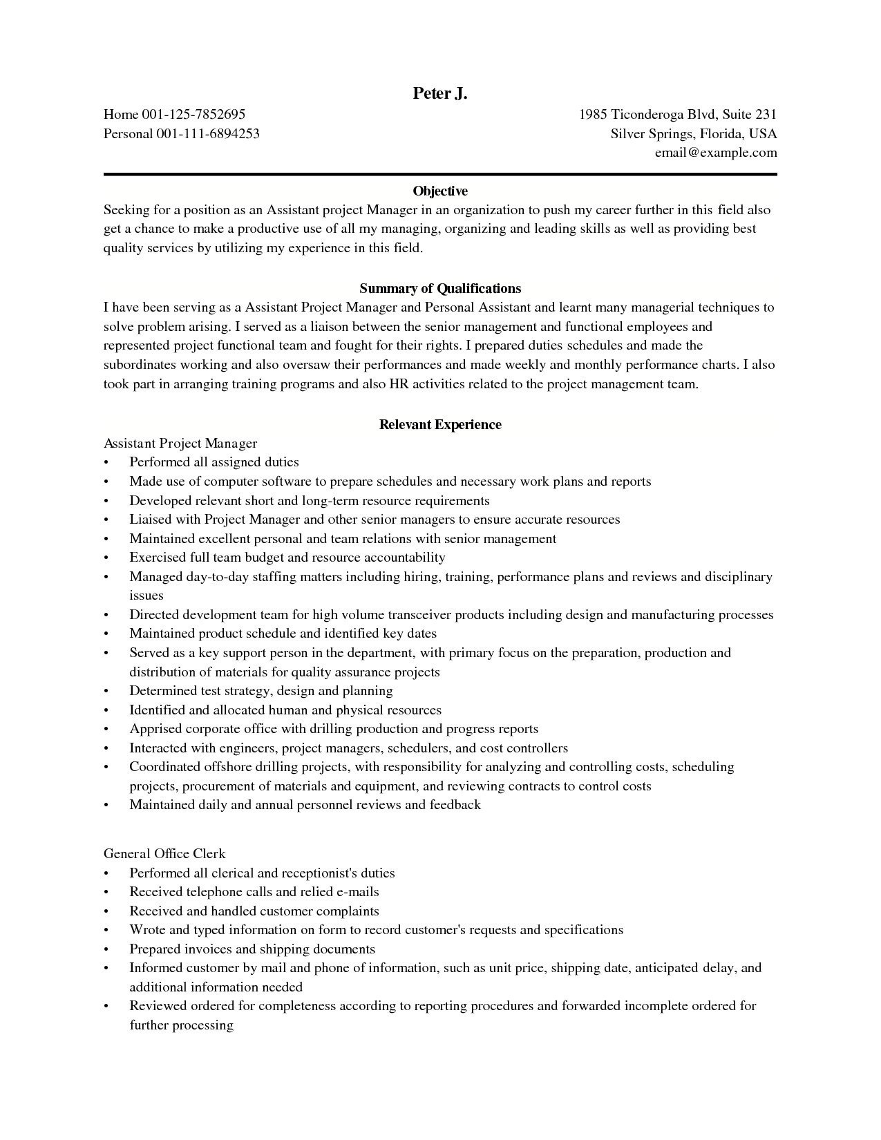Construction Manager Resume - Project Manager Sample Resume New Awesome Elegant Grapher Resume