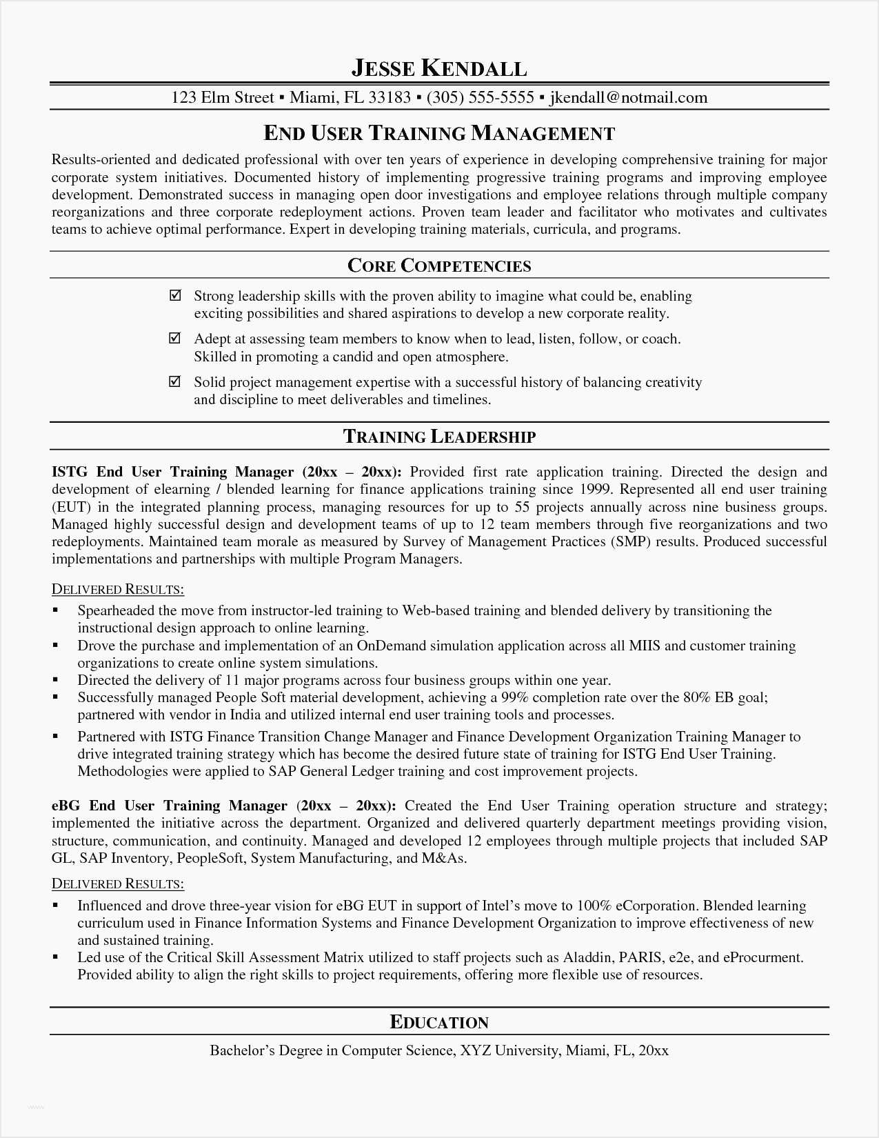 Construction Manager Resume Template - Resume Template Project Manager It Project Manager Resume Unique Cto