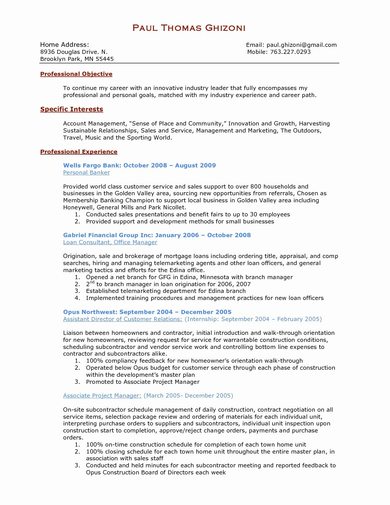 Contract Manager Resume - 15 Contract Manager Resume