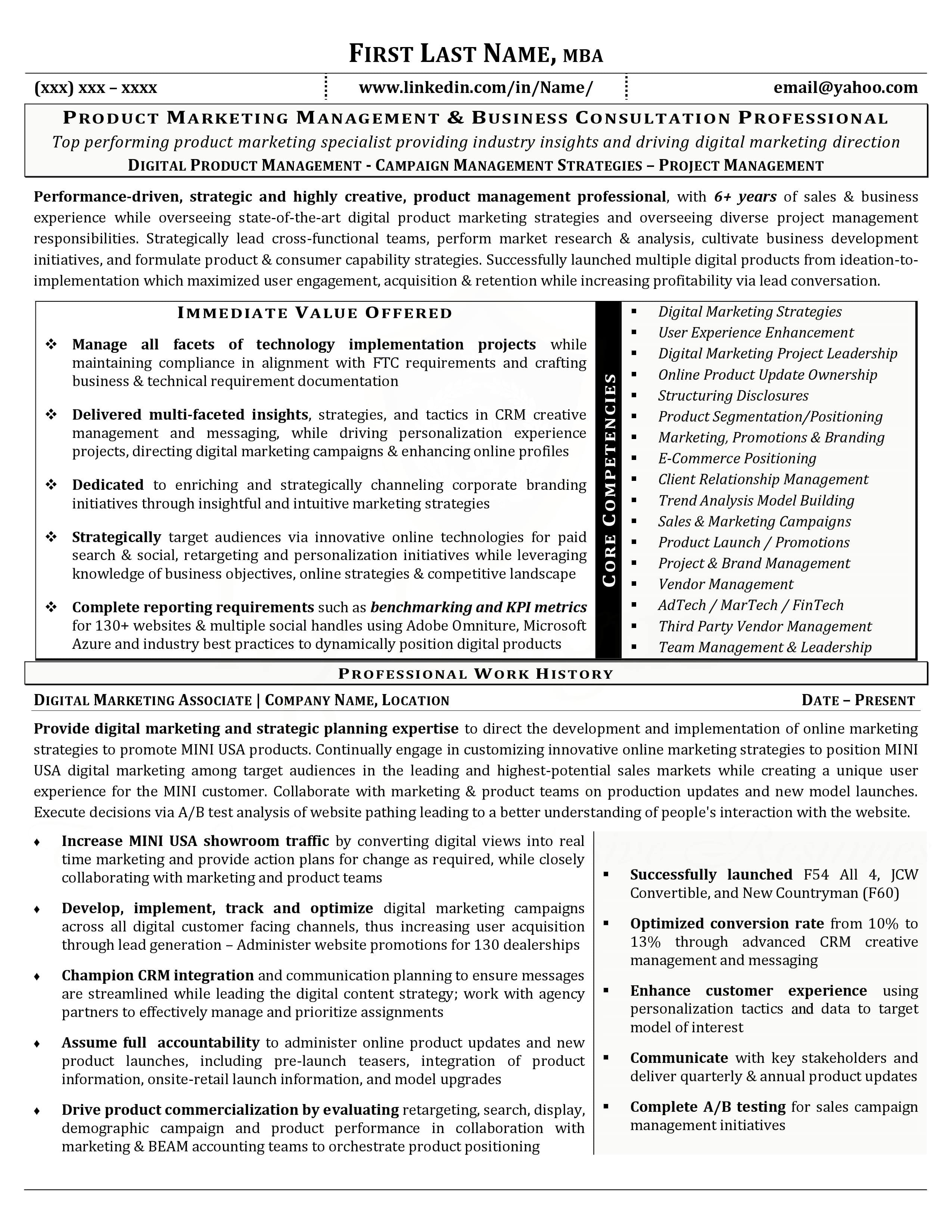 Core Competencies Resume - Core Petencies Resume Unique Core Petencies Resume Examples