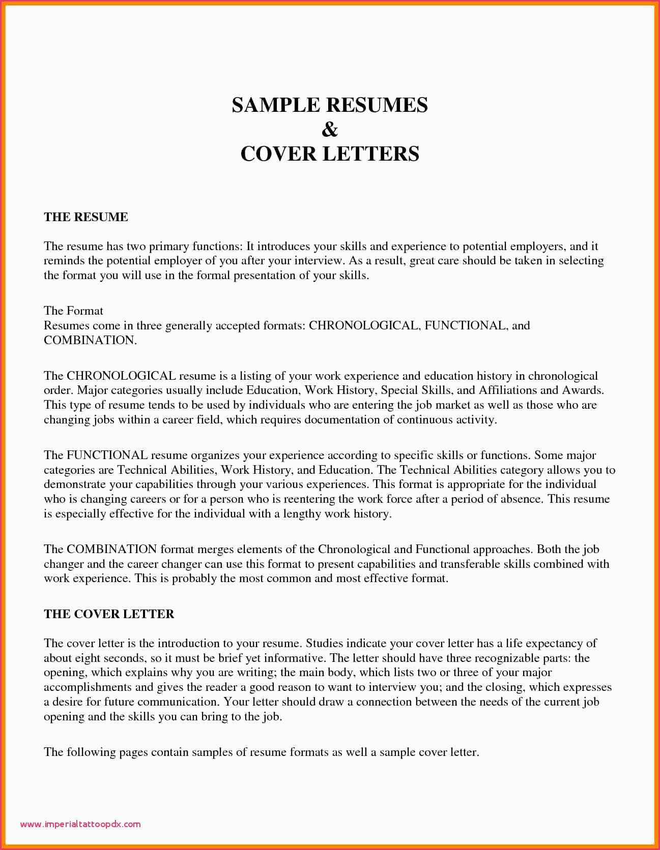 Correct Resume format - Cna Resume Sample New Skills Lovely Bsw 0d Best format Template