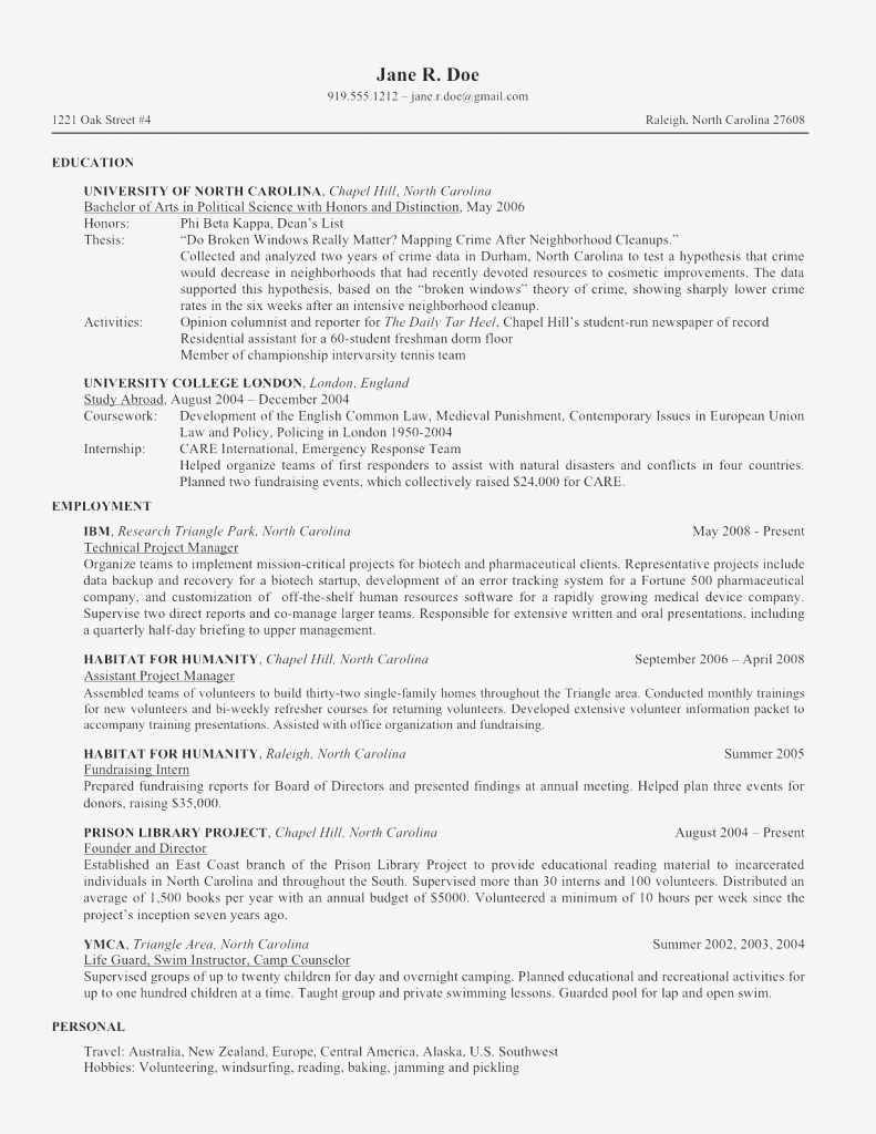 Counselor Resume Template - Sample Counseling Resume