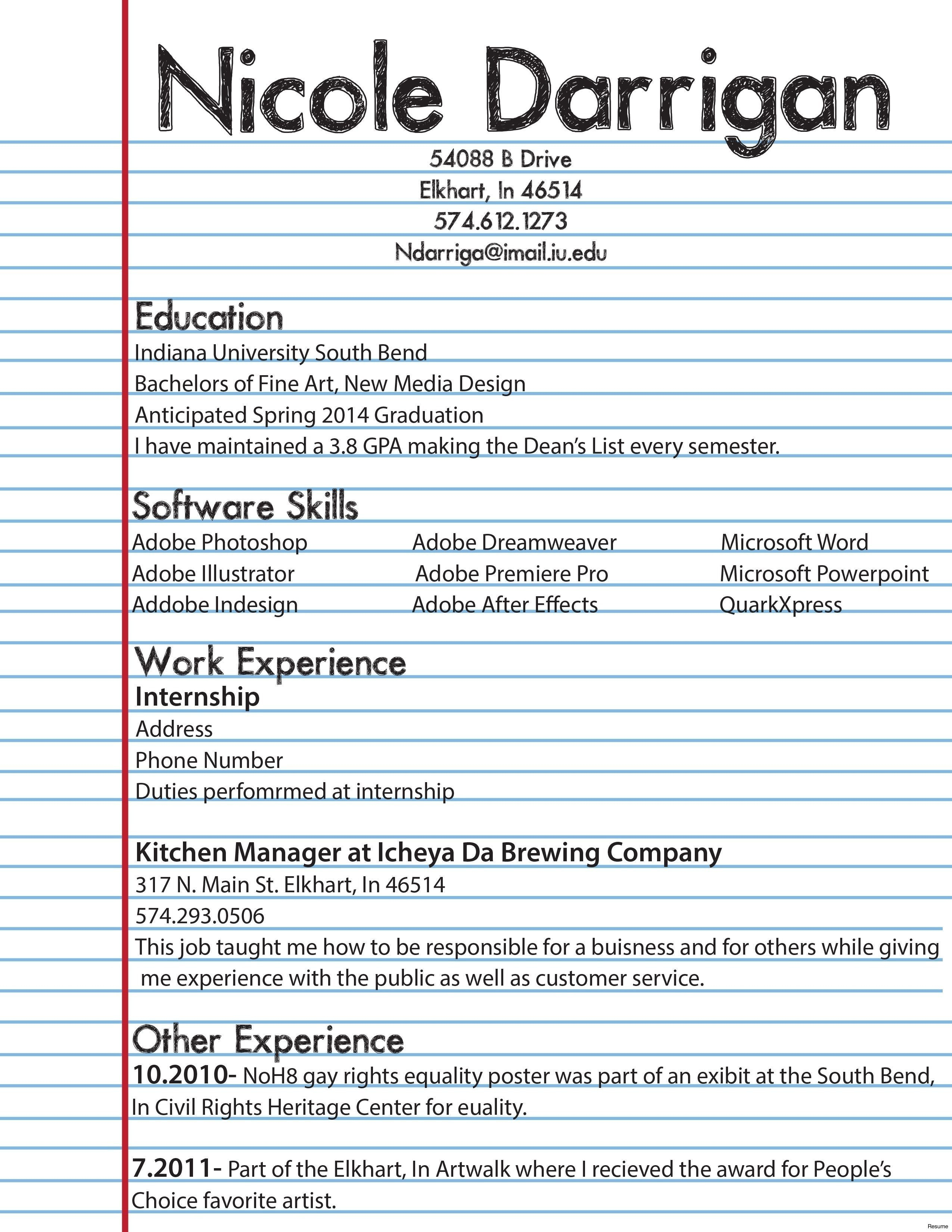 Create A Free Resume - Make A Free Resume Best Fresh Entry Level Resume sorority Resume