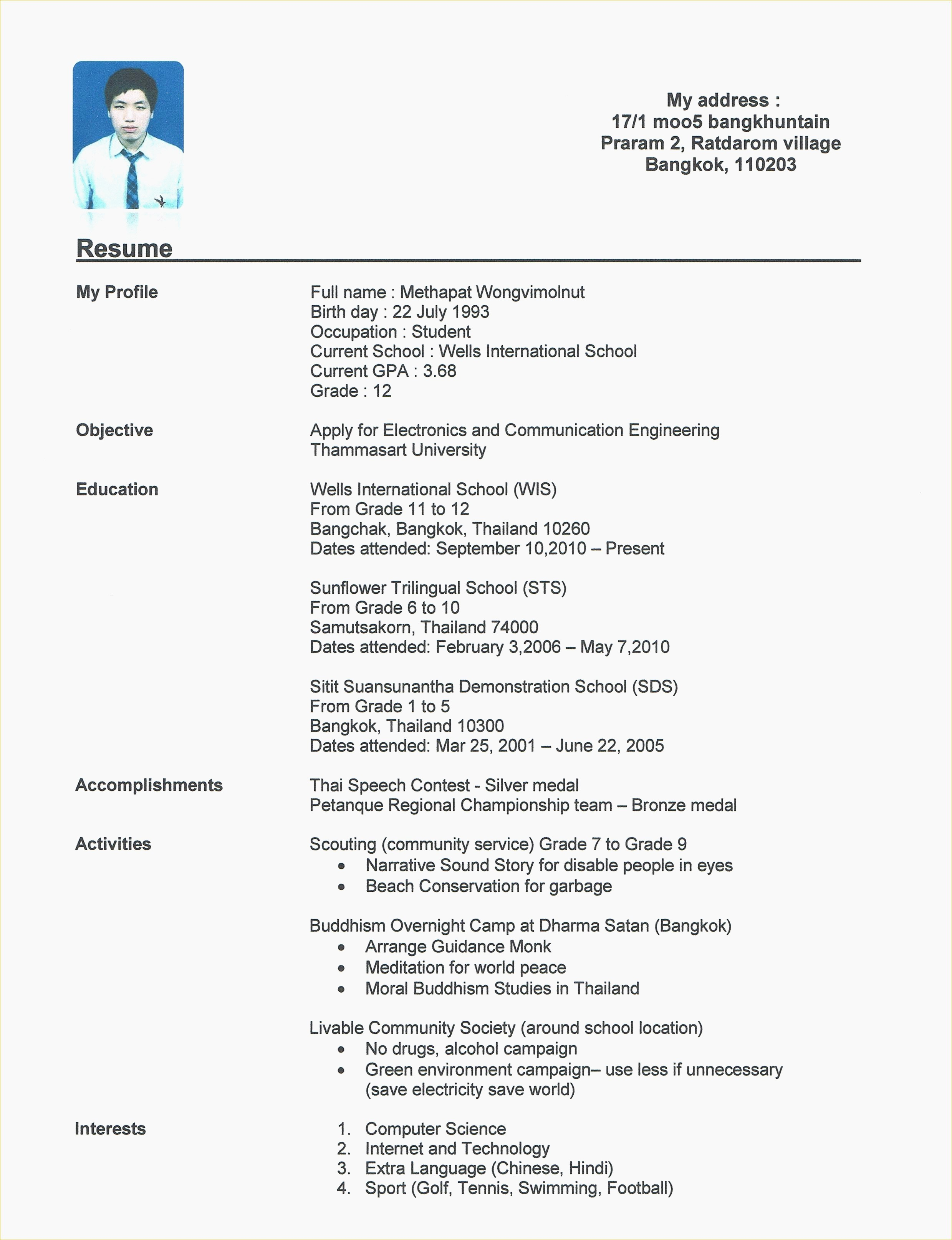 Create Professional Resume Online Free - Create Line Resume Inspirational Free Resume Maker Download