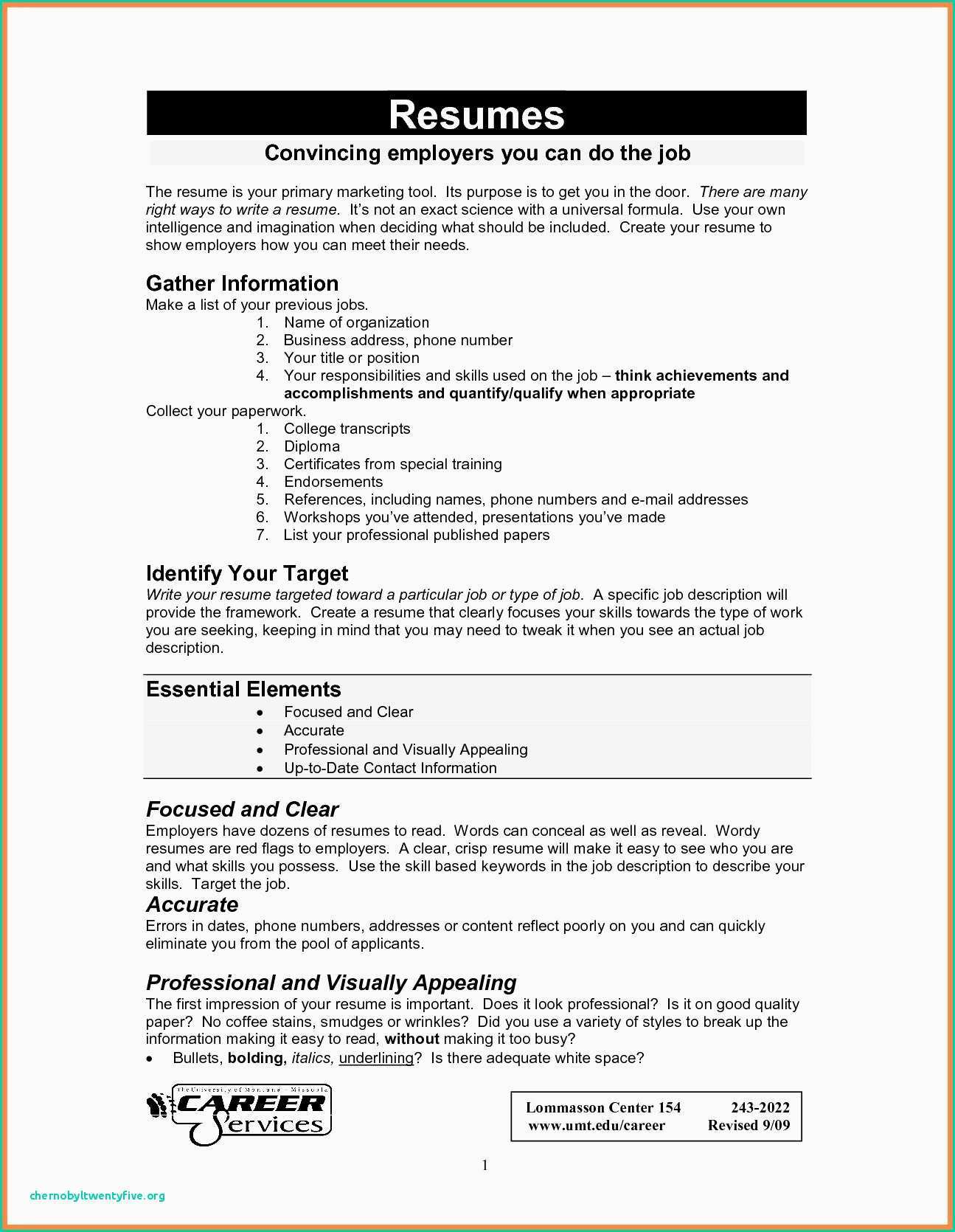 Create Your Own Resume - How to Do Resume How to Make Resume Awesome Resume for It Job Fresh