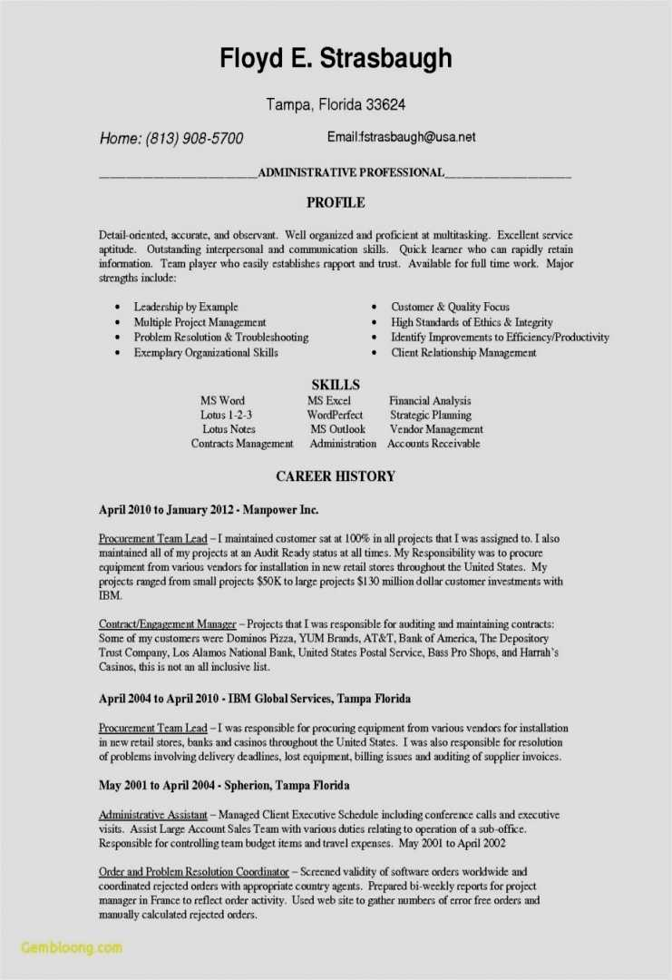 Customer Service Resume Template Free - 20 Fresh Resume Template Professional Free Resume Templates