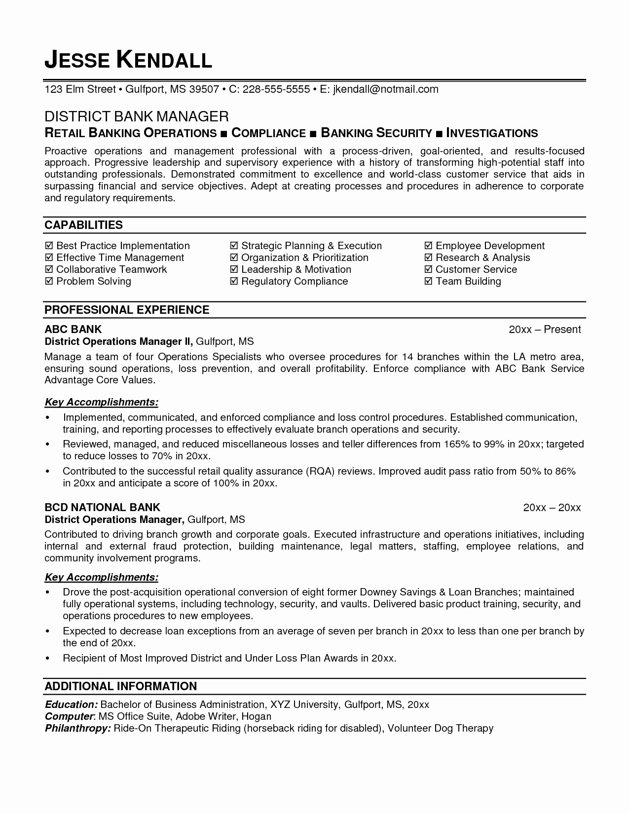 Cyber Security Entry Level Resume - Entry Level Cyber Security Resume