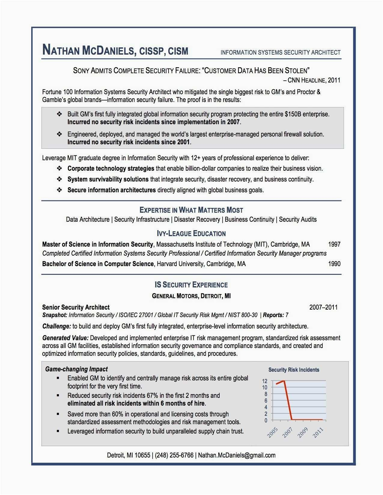 Cyber Security Resume - Information Security Resume New 72 Best Resume Pinterest