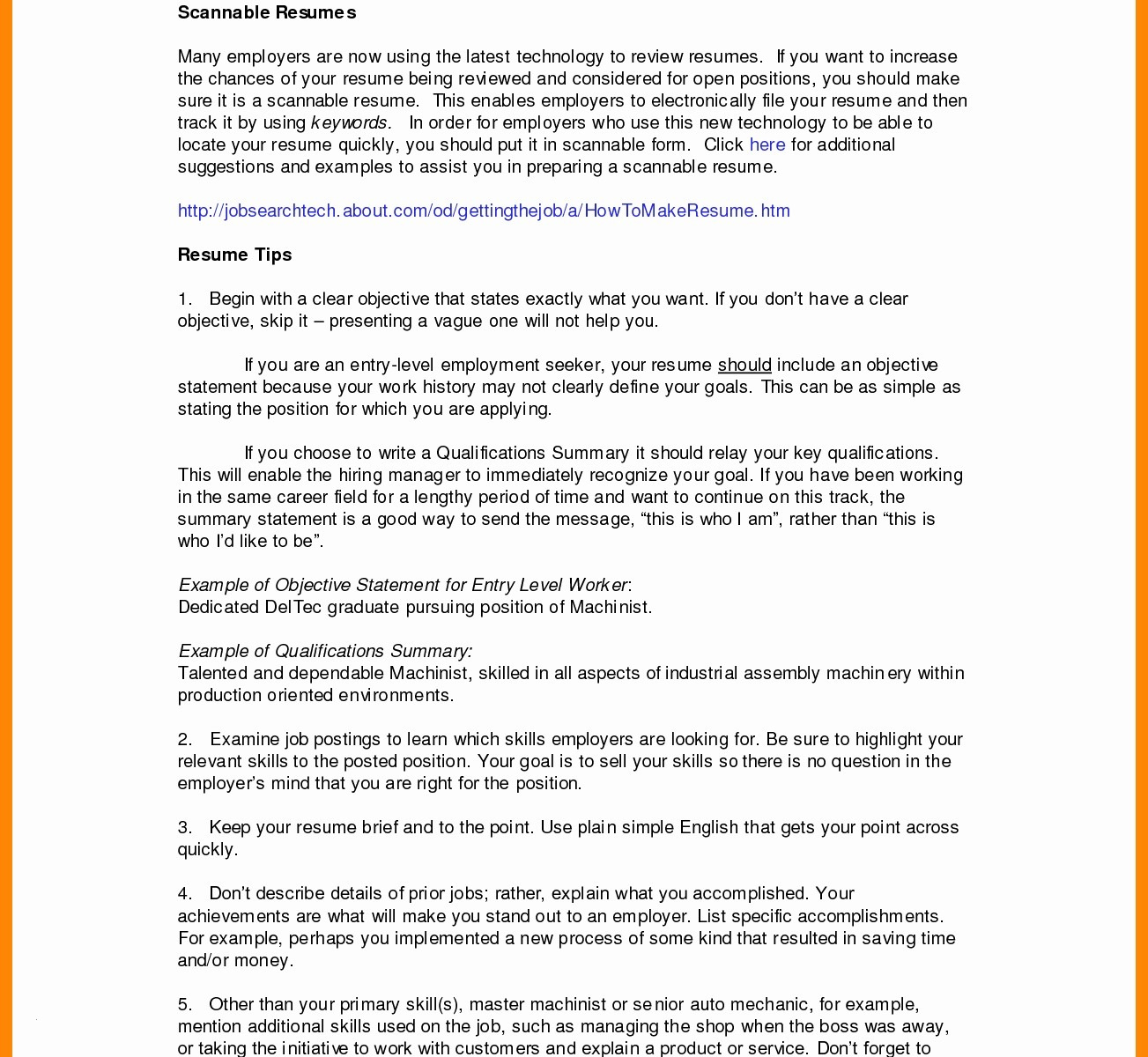Delivery Driver Resume - Truck Driver Resume Example