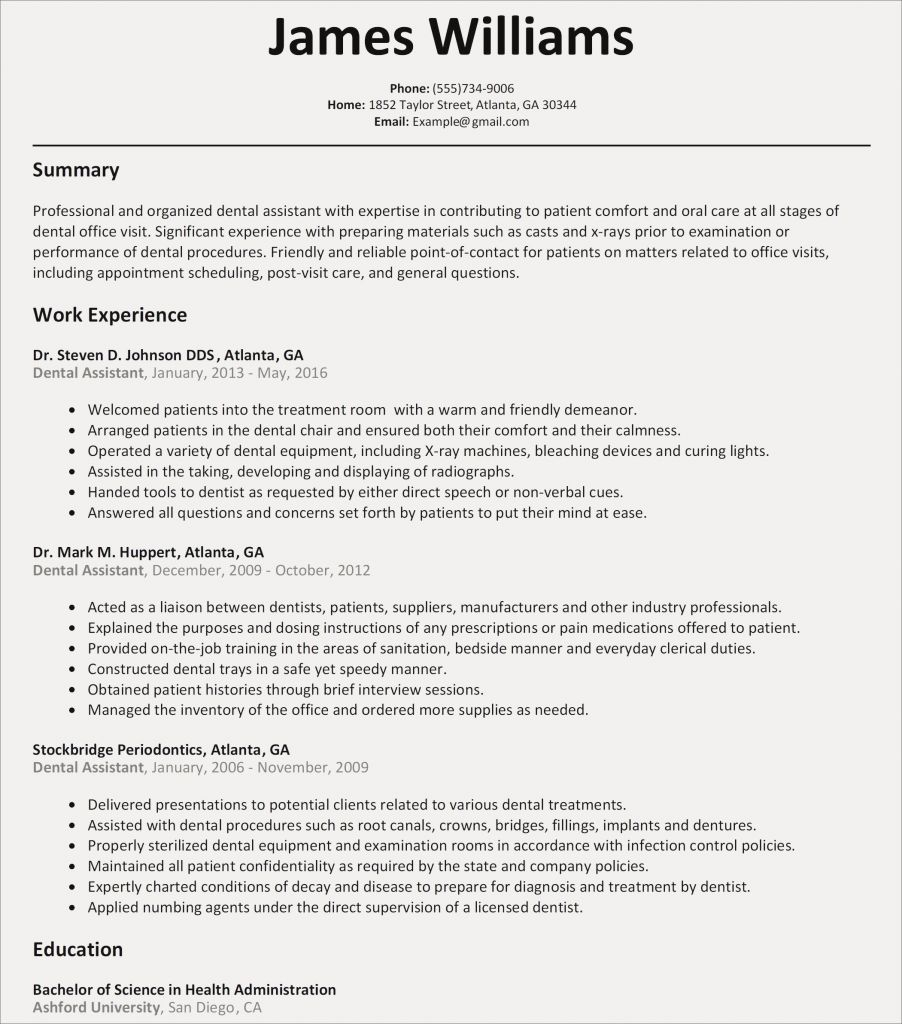Dental assistant Duties Resume - Care assistant Cover Letter Valid How to Write A Cover Letter for