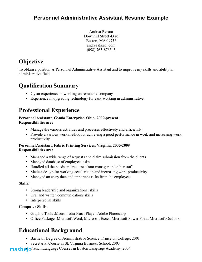 Dental assistant Resume with No Experience - Dental assistant Resume Examples No Experience 28 Executive