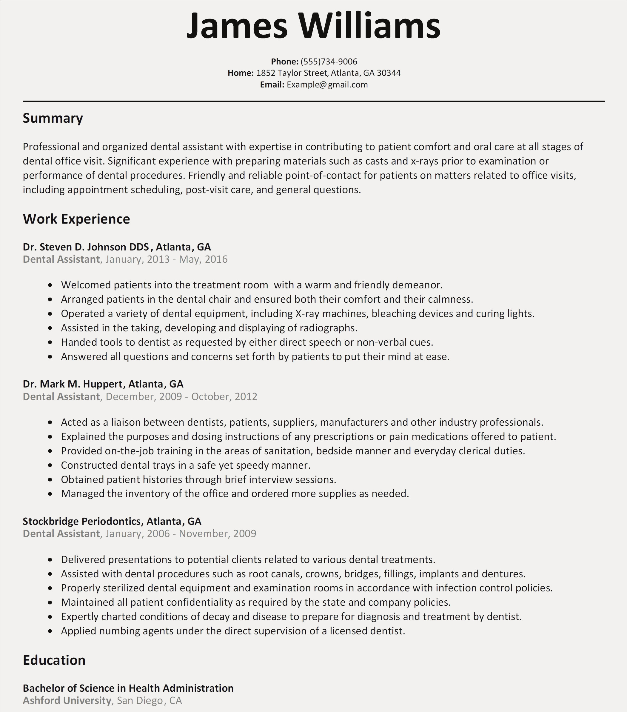 Dental Resume Template - How to Make A Resume Cove Best How to Write A Cover Letter for