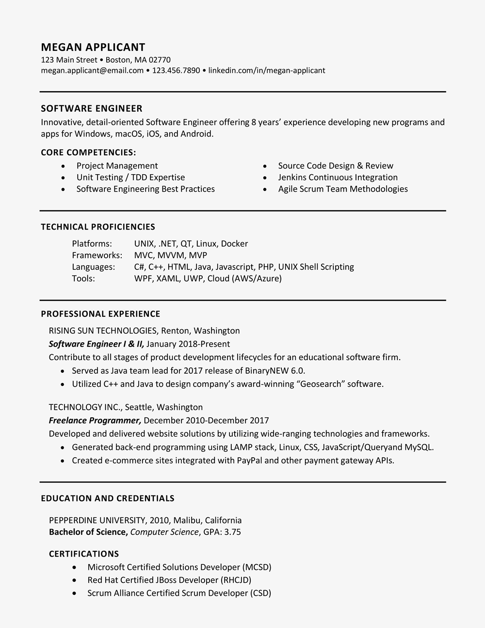 Describe Your Computer Skills Resume Sample - the Best Skills to Include On A Resume
