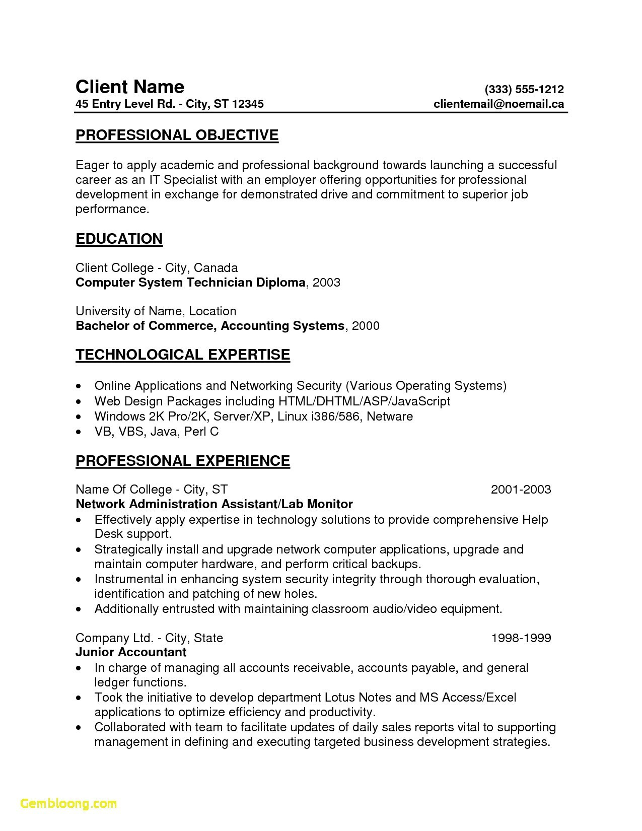 Desktop Support Resume Template - Resume Website Template Best Unique Resume Website Templates