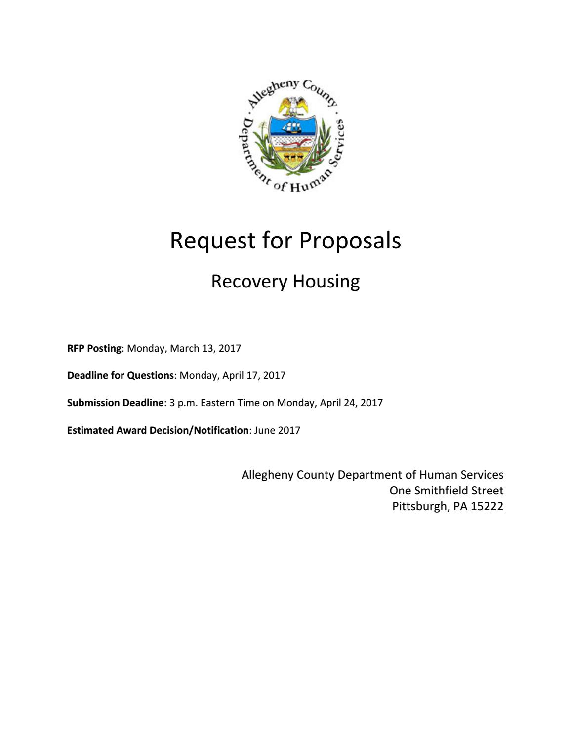 Dhs Personal assistant Job Description - Rfp for Recovery Housing by Acdhs issuu