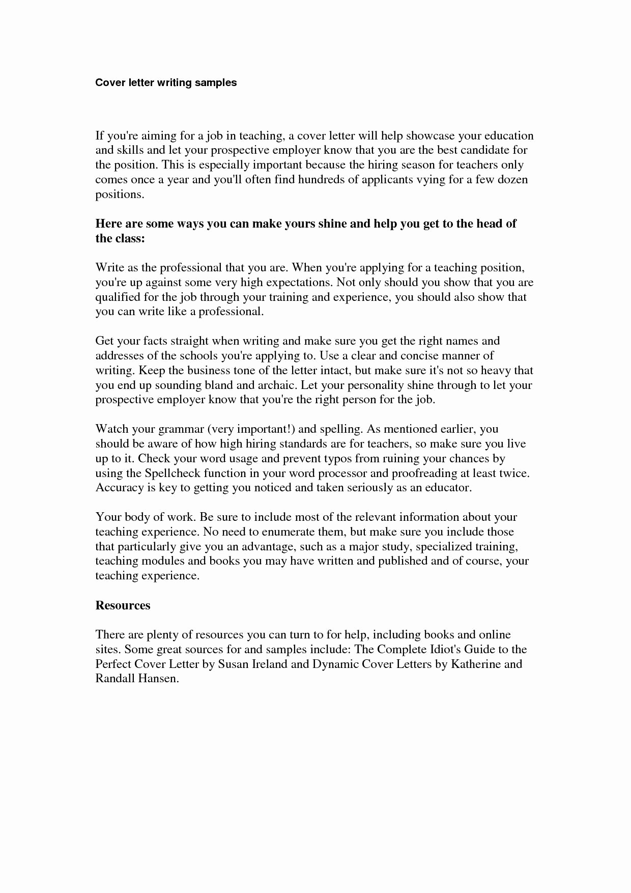 Direct Care Worker Resume - Cover Letter for Direct Care Worker 15 Unique How to Write A Job