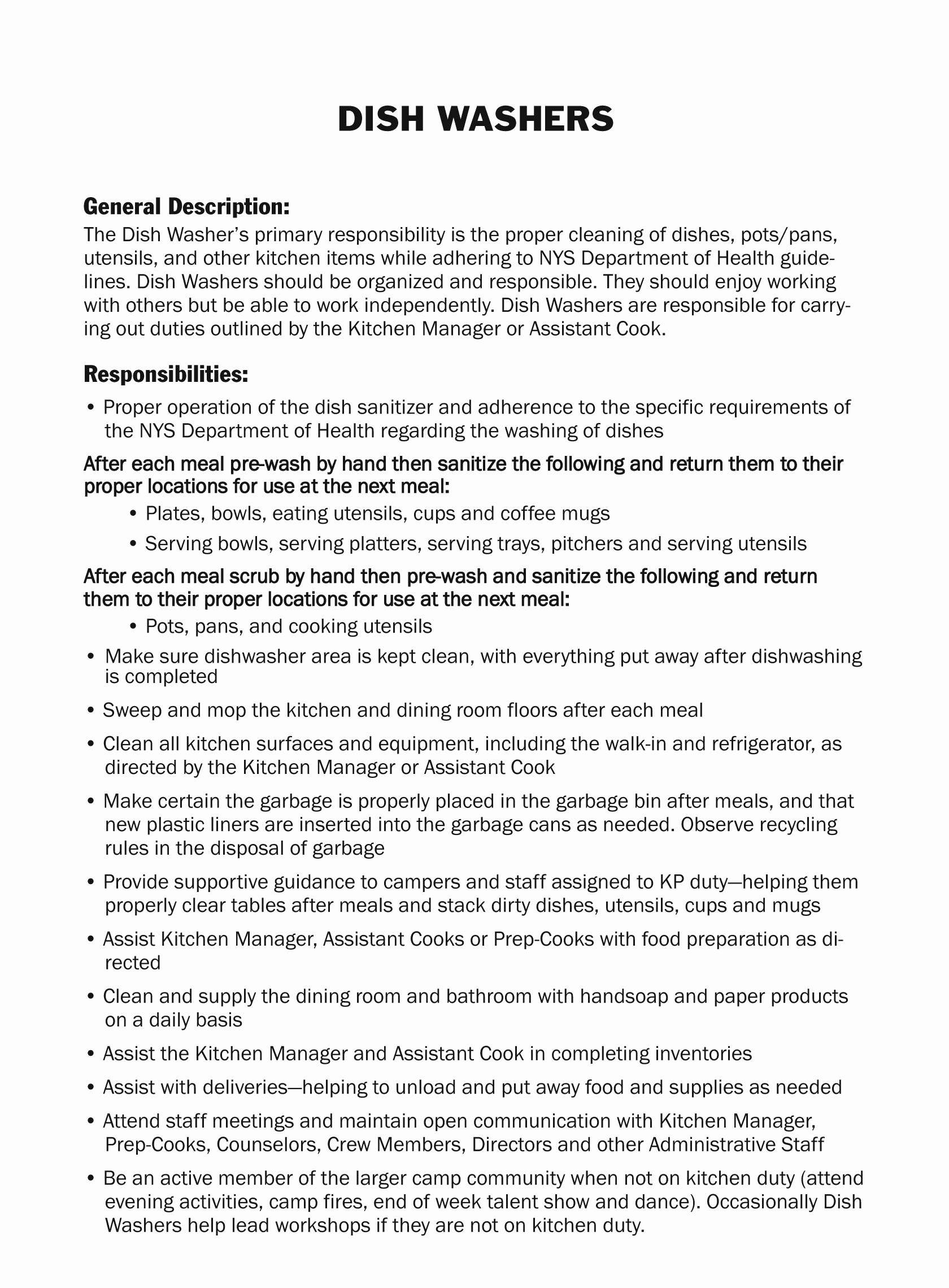 Dishwasher Job Description Sample - Job Description An Optician Fresh Dishwasher Job Description for