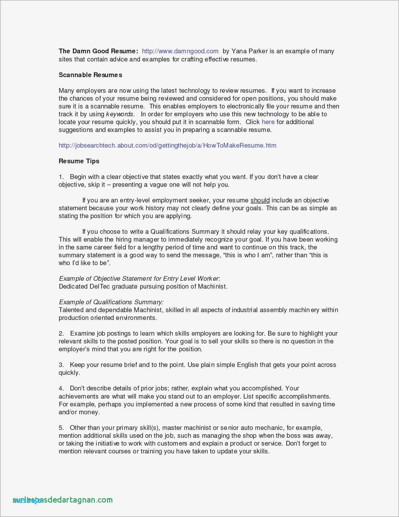 Dishwasher Resume Example - Skills and Ac Plishments Resume Examples Awesome Resume Tutor