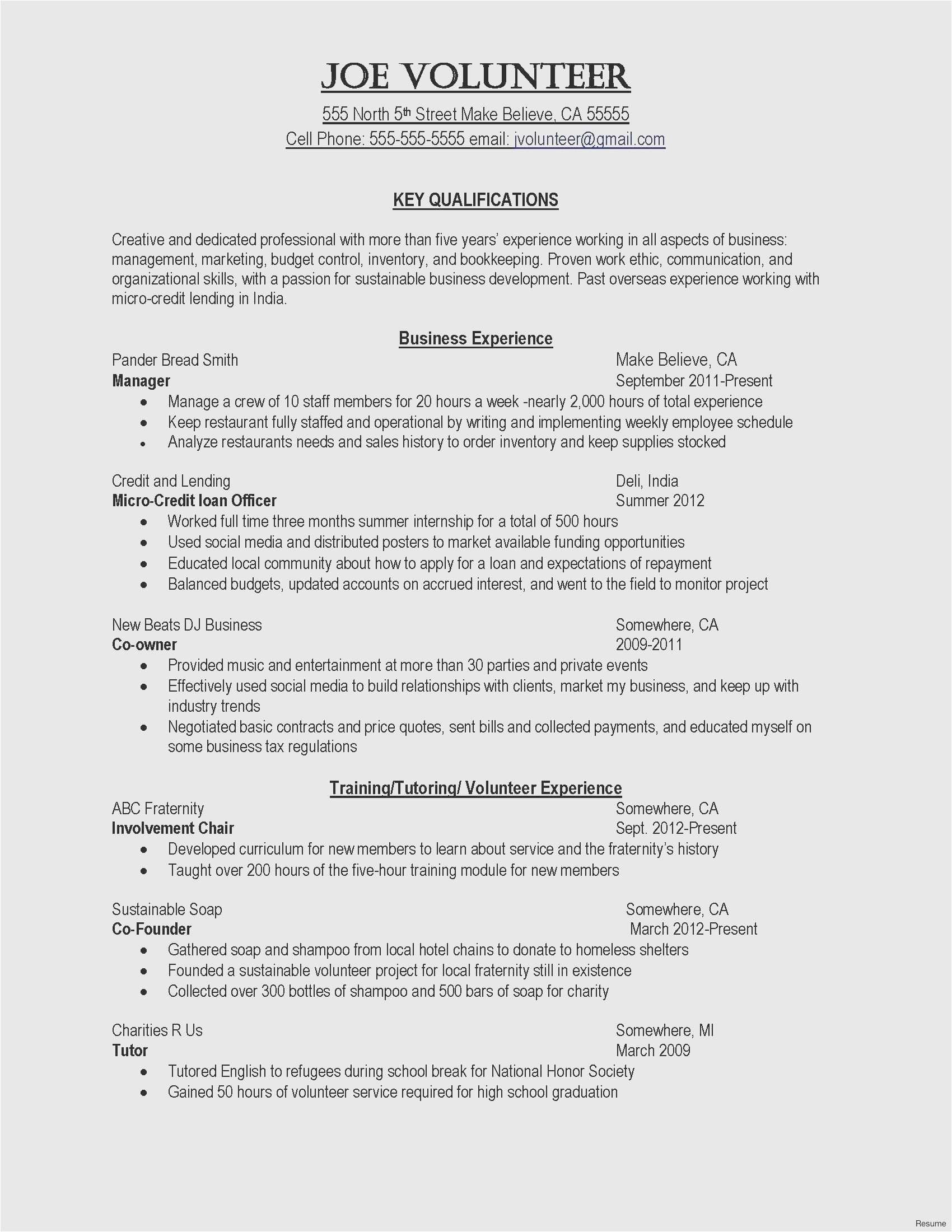 Dj Resume Template - 25 Free Cover Letter Accounting Gallery