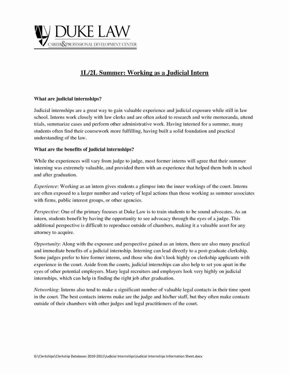 Duke Resume Template - Resume Writing for Lawyers Literarywondrous Lawyer Resume Template