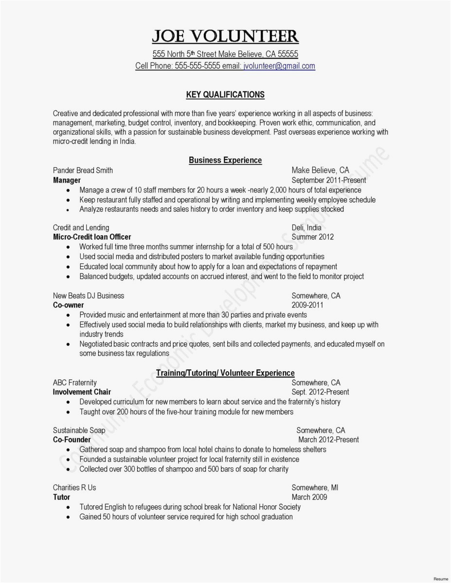 Editor Resume Sample - Resume Editor New Artist Resume Template Awesome Resume Puter Skills