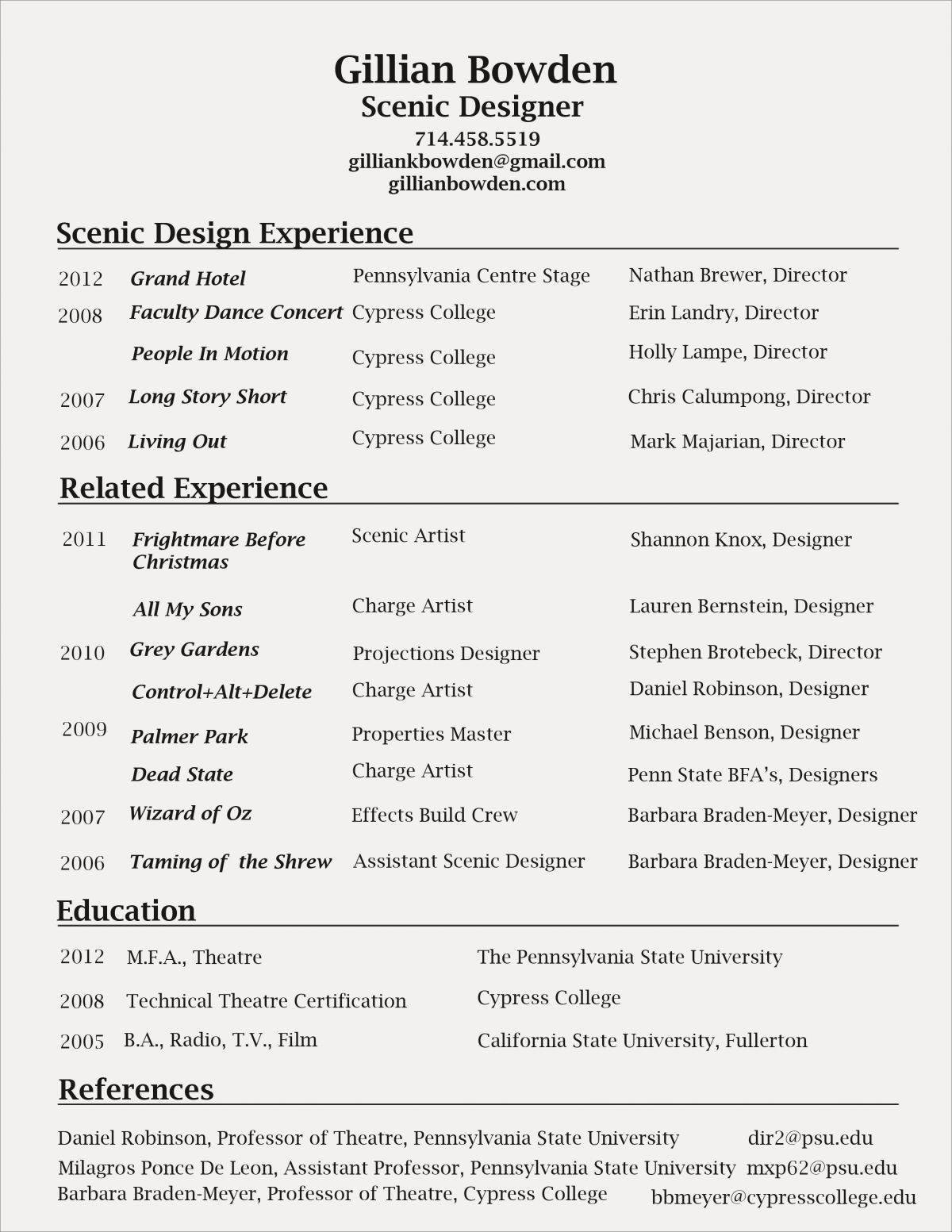 Education Section Of Resume - 33 Fresh Resume Education Section Chart Stock