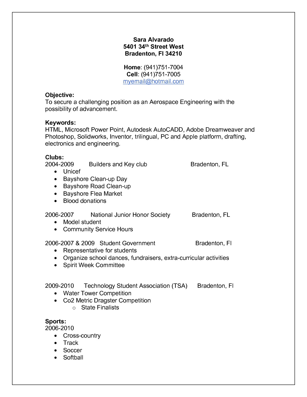 Electrical Engineer Resume Sample - Electrical Engineering Heavy Current Salary