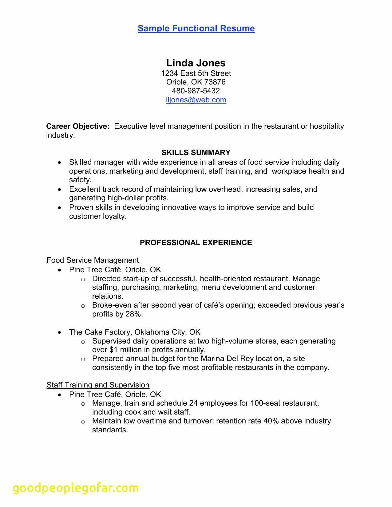 Electrical Engineering Resume - Electrical Engineer Resume Ressume Template Lovely Type Resume