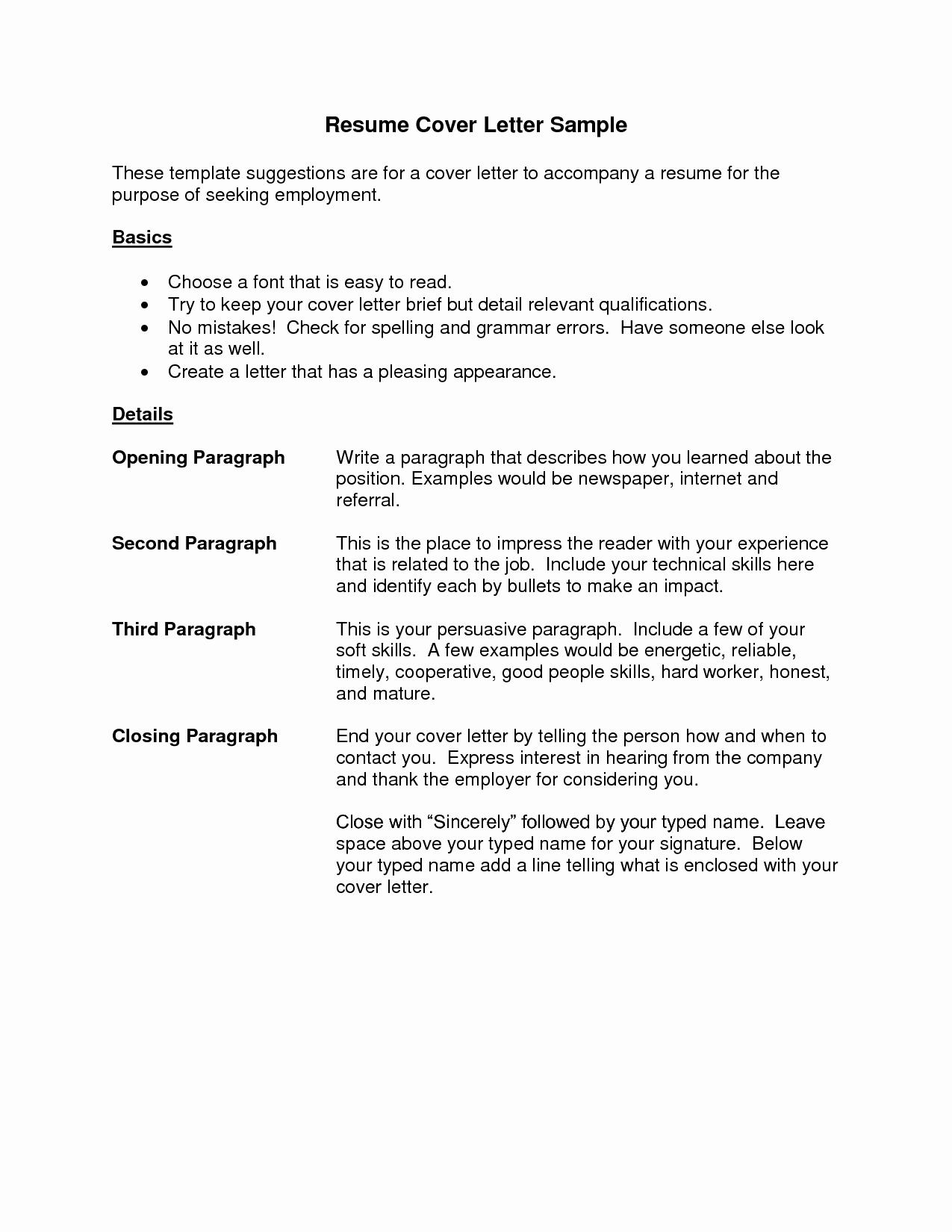 Employer Name Example - Proper format for Resume Luxury Fresh How to Write A Proper Resume