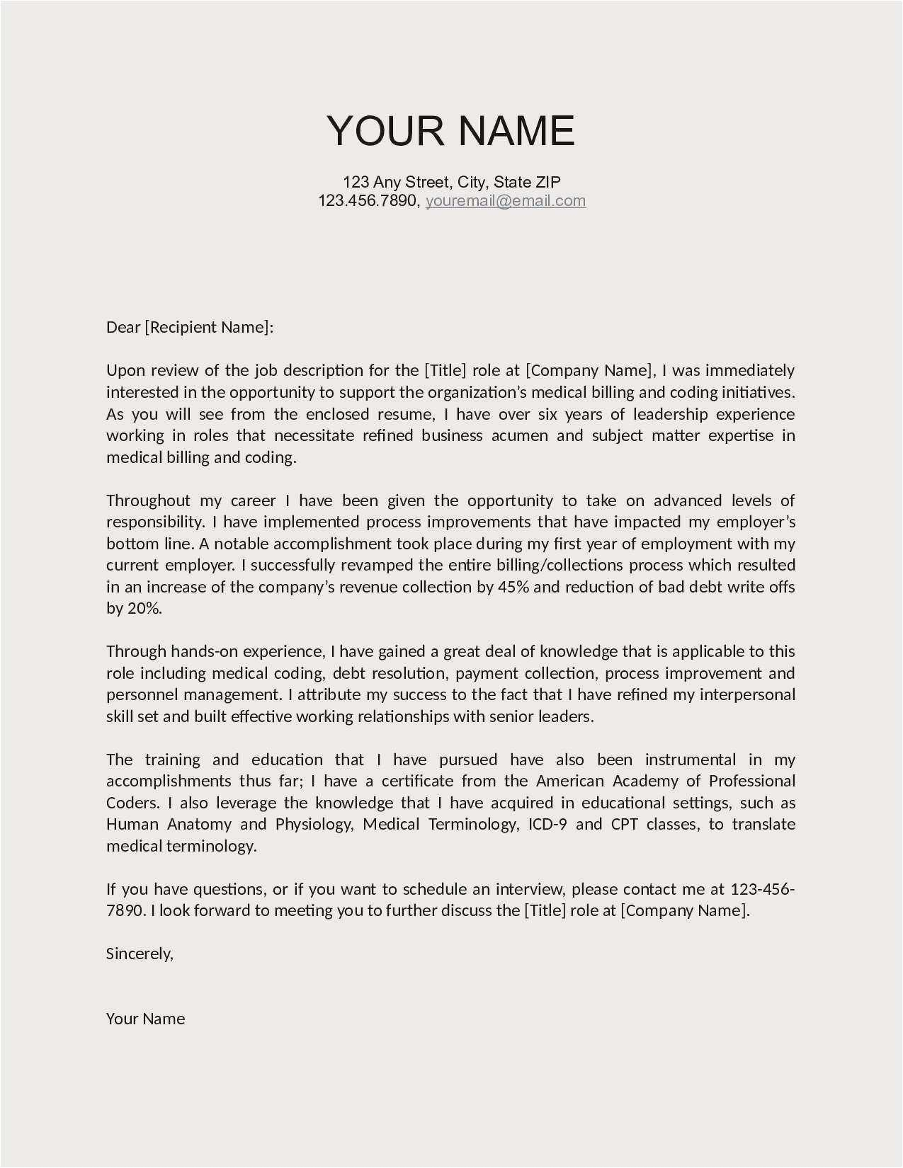Employer Name Example - 25 Free Email Cover Letter Sample Free Download